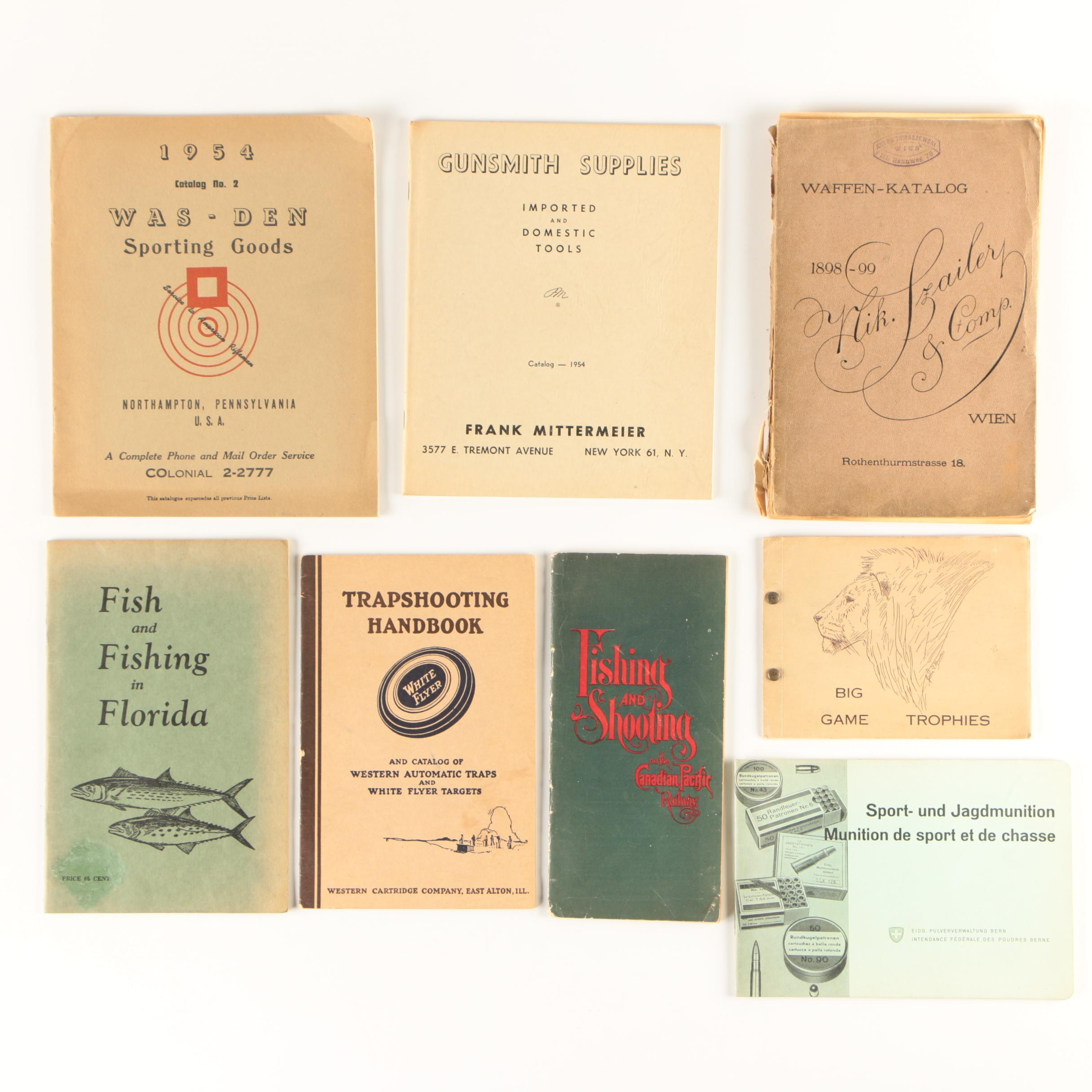 Vintage Hunting, Fishing and Shooting Booklets