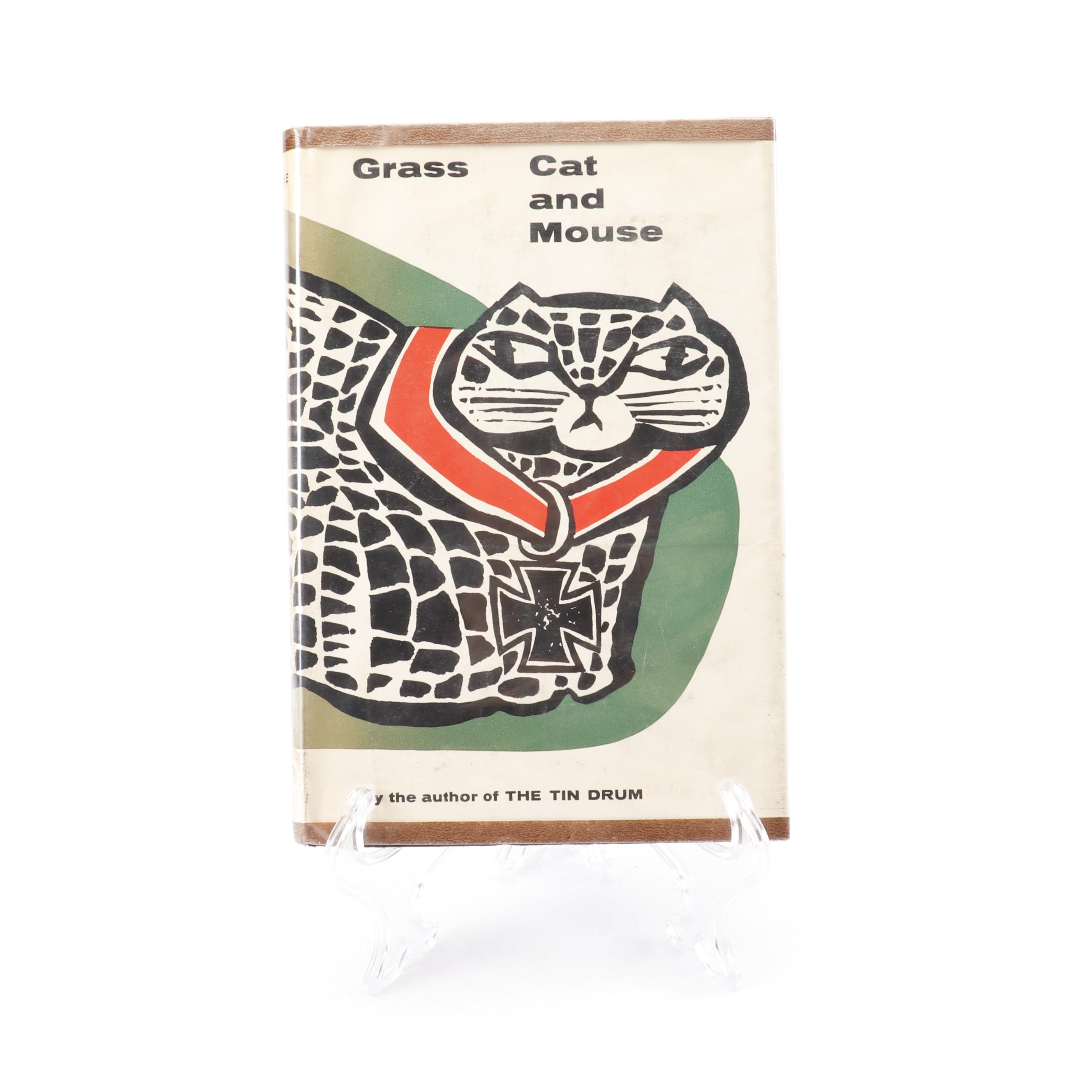 "1963 First English Edition ""Cat and Mouse"" by Günter Grass"