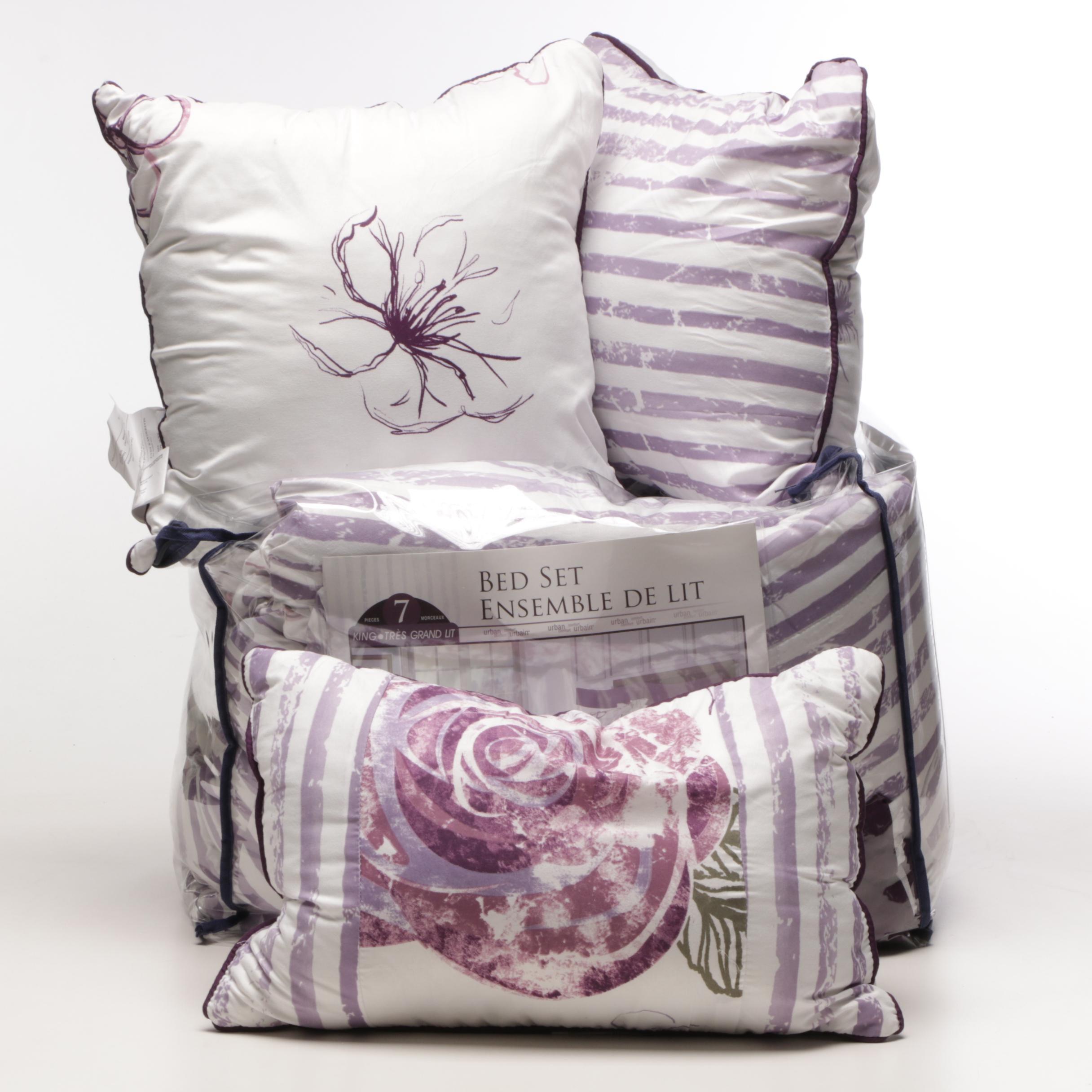King Size Urban Comfort Reversible Bed Set