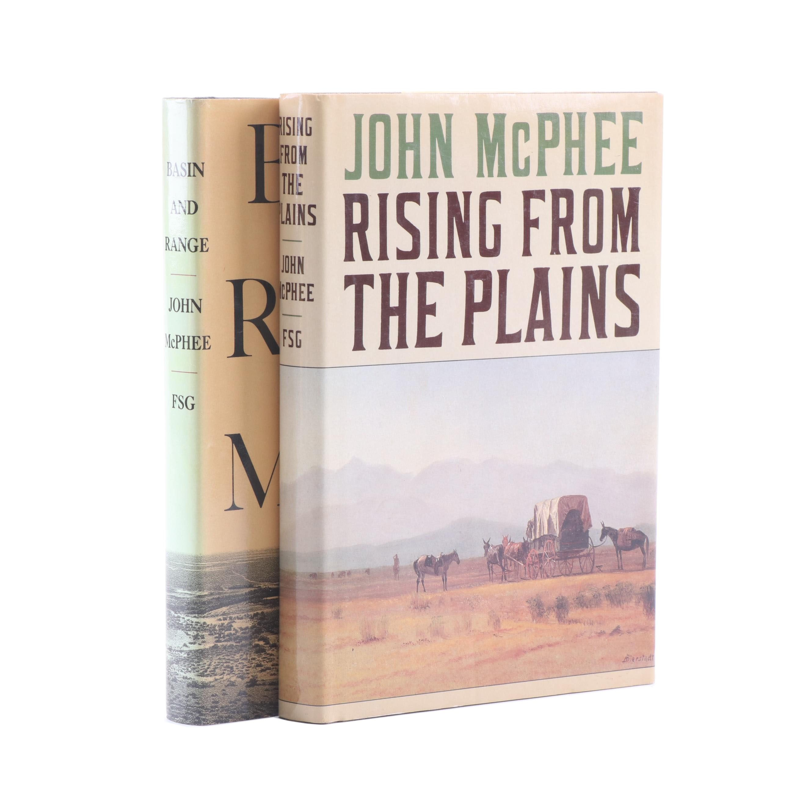 """""""Basin and Range"""" and """"Rising from the Plains"""" by John McPhee"""