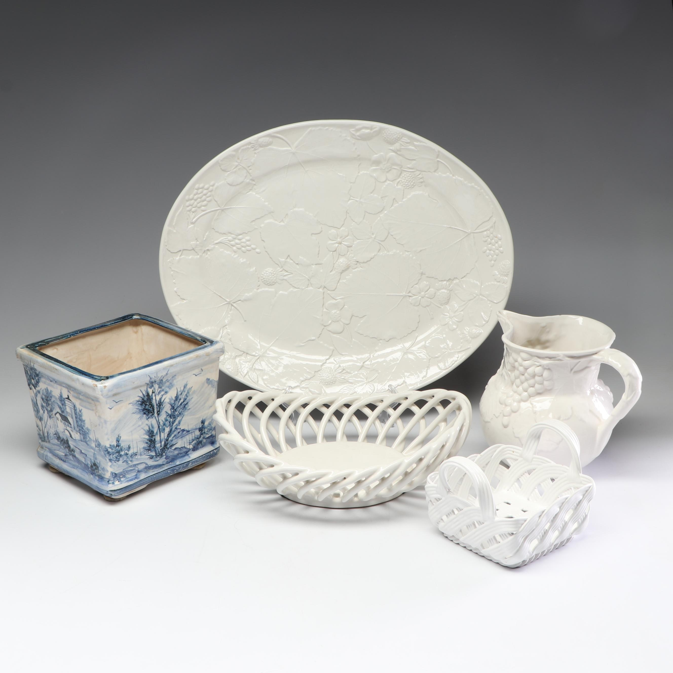 Collection of Ceramic Home Accents