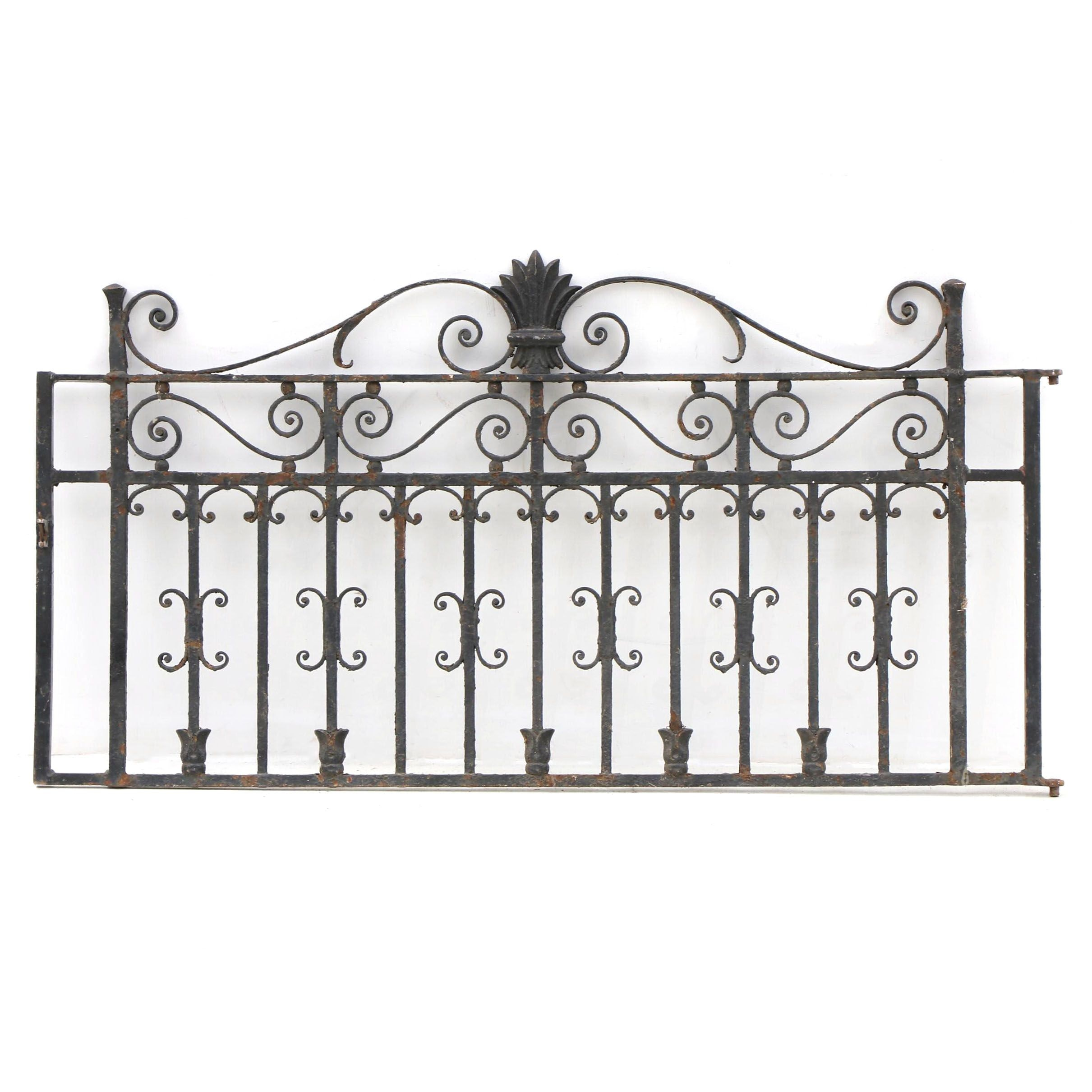 Early Wrought Iron Gate