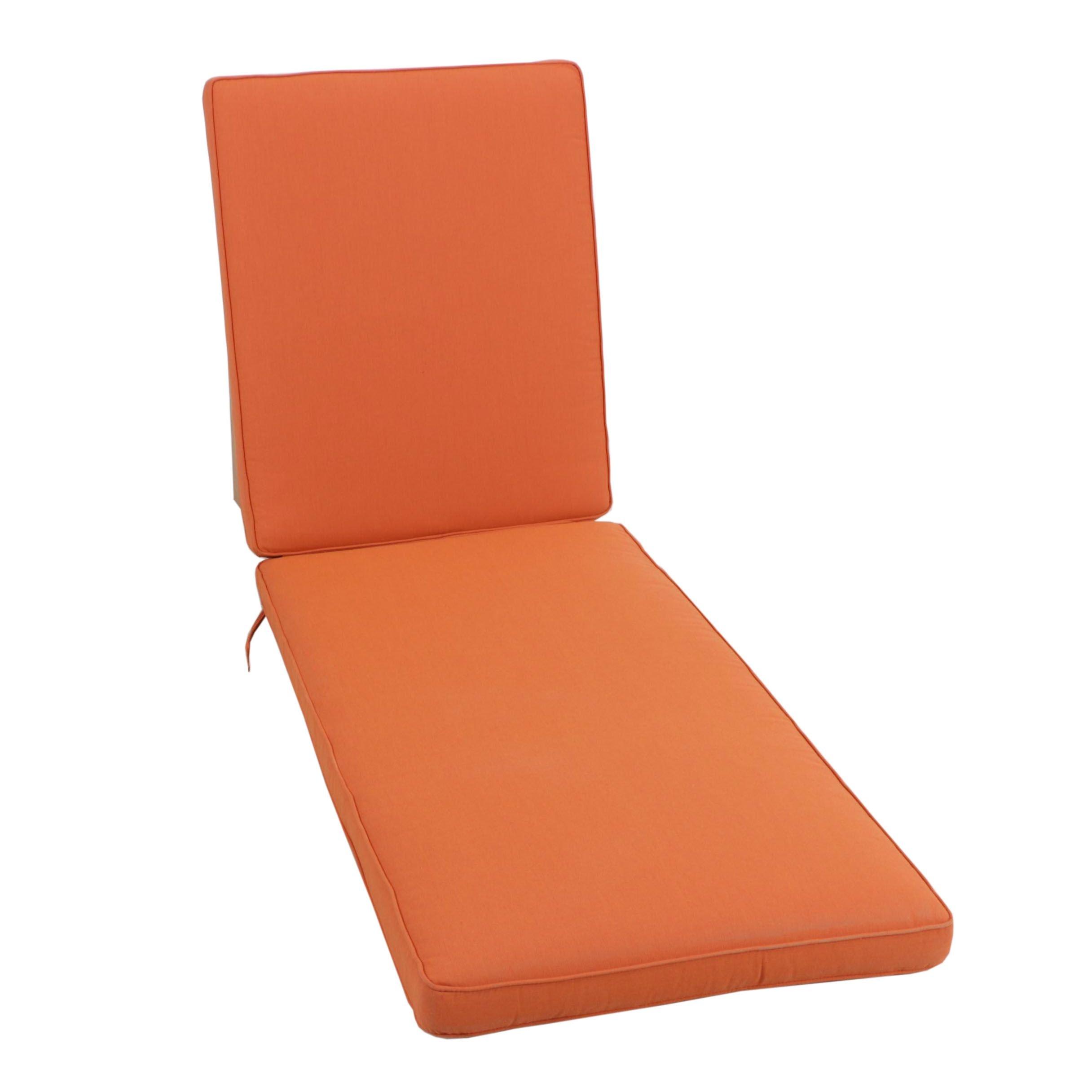 Eddie Bauer Sunbrella Indoor/Outdoor Chaise Lounge Cushion