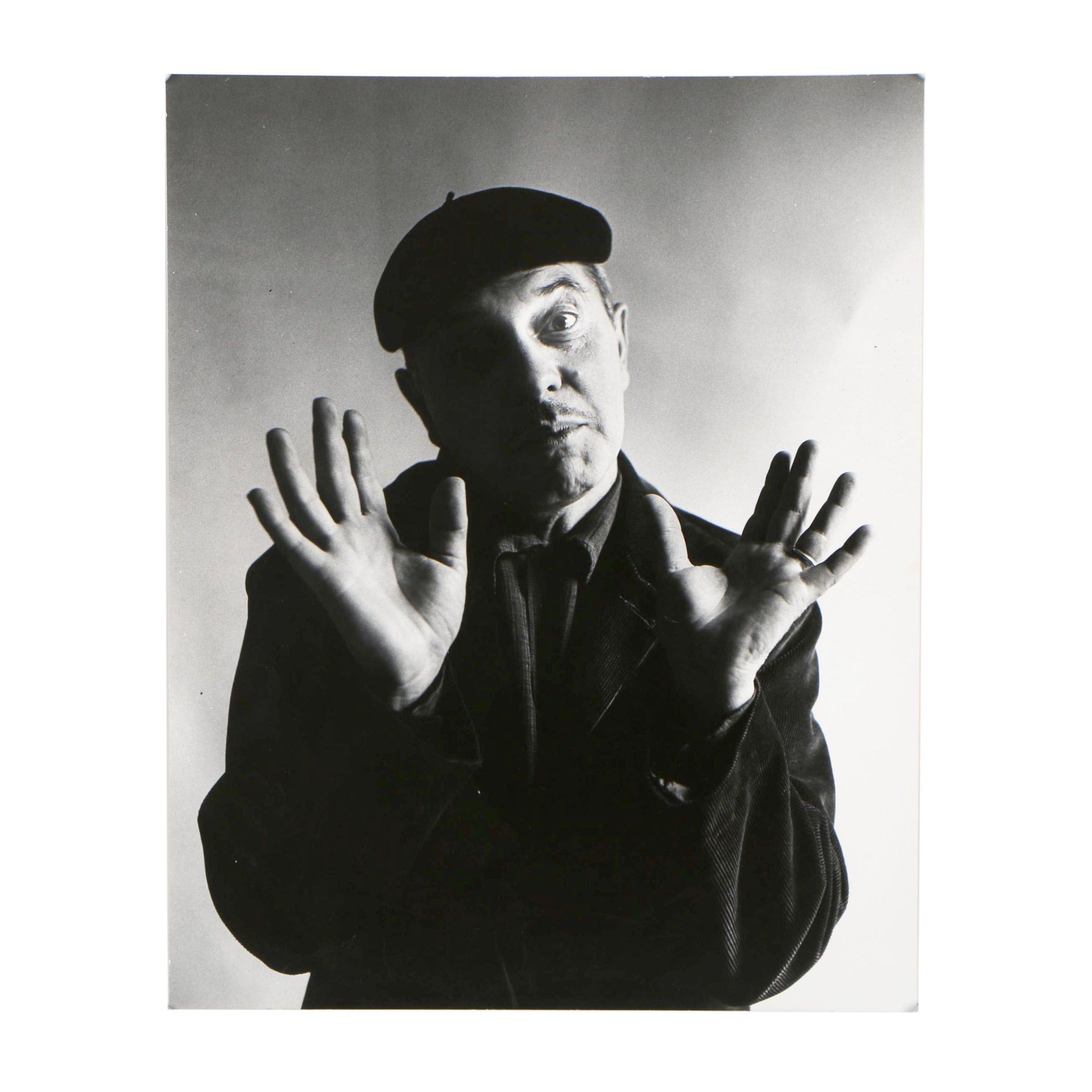 1957 Portrait Silver Gelatin Photograph