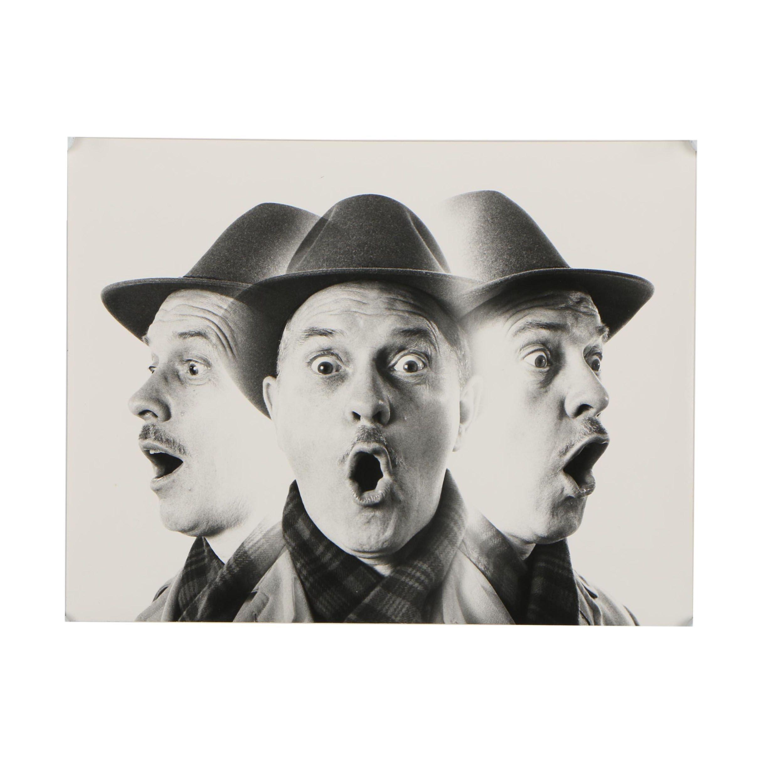 1958 Portrait Silver Gelatin Photograph
