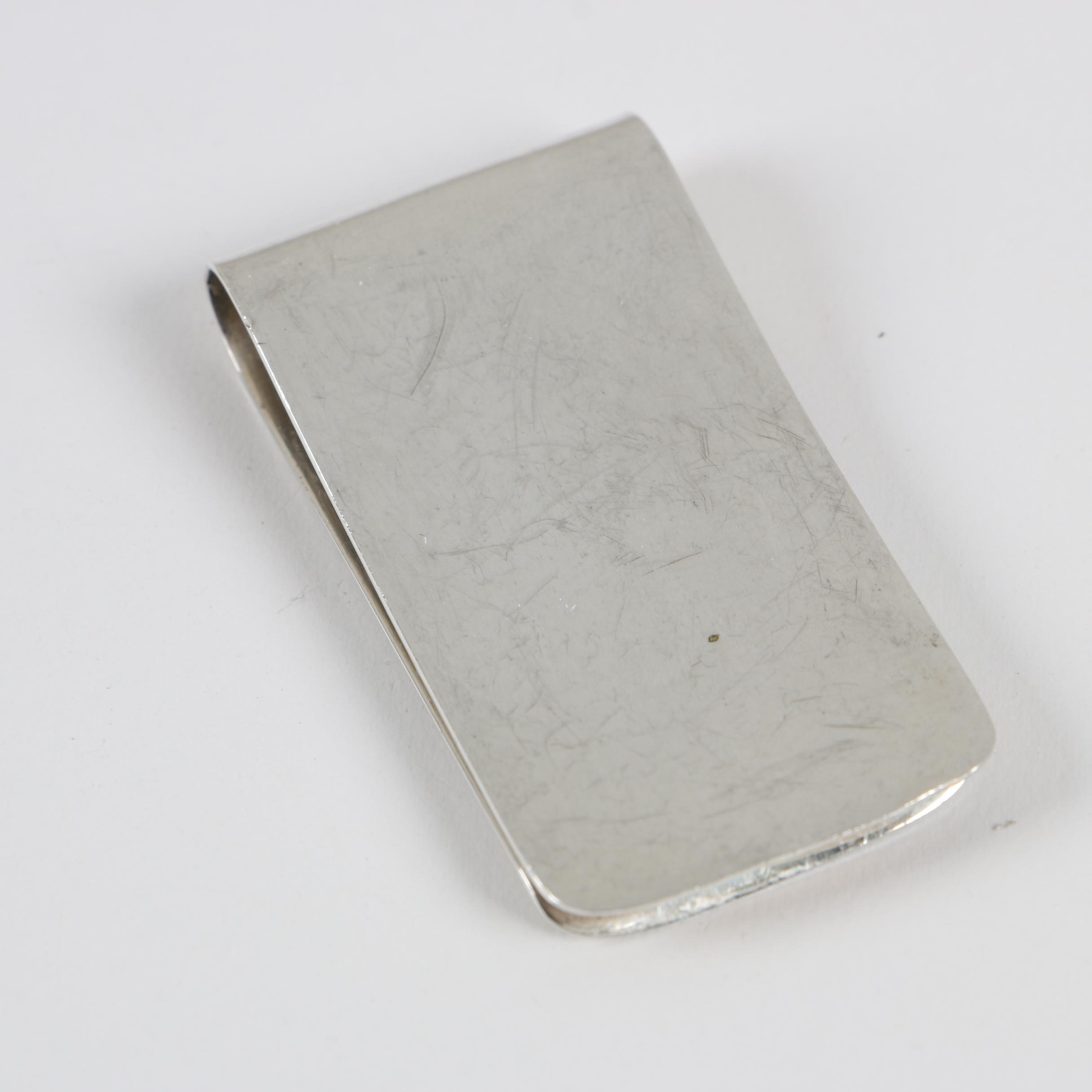 Mexican Sterling Silver Money Clip