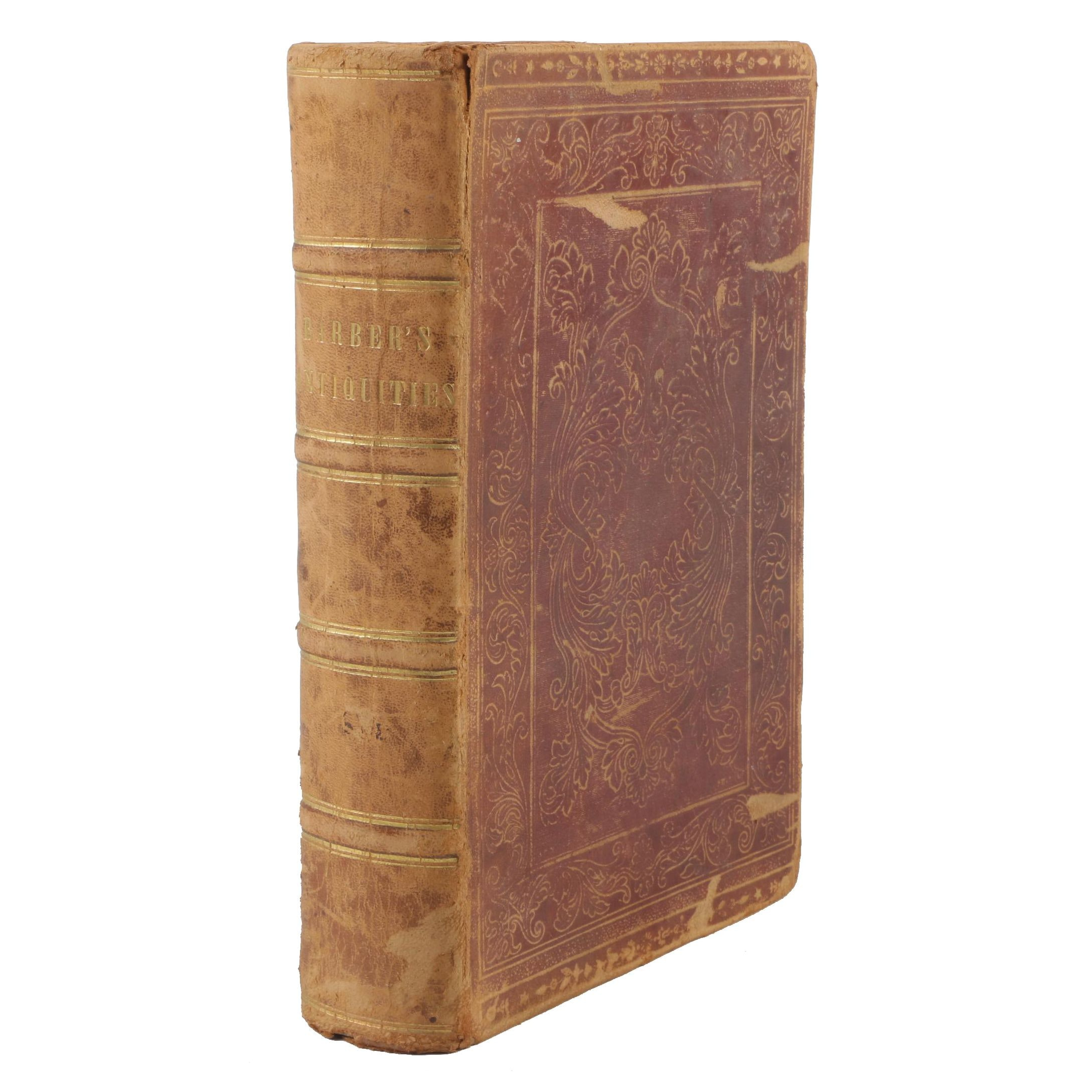 """1842 """"History and Antiques of New England"""" by John Warner Barber"""
