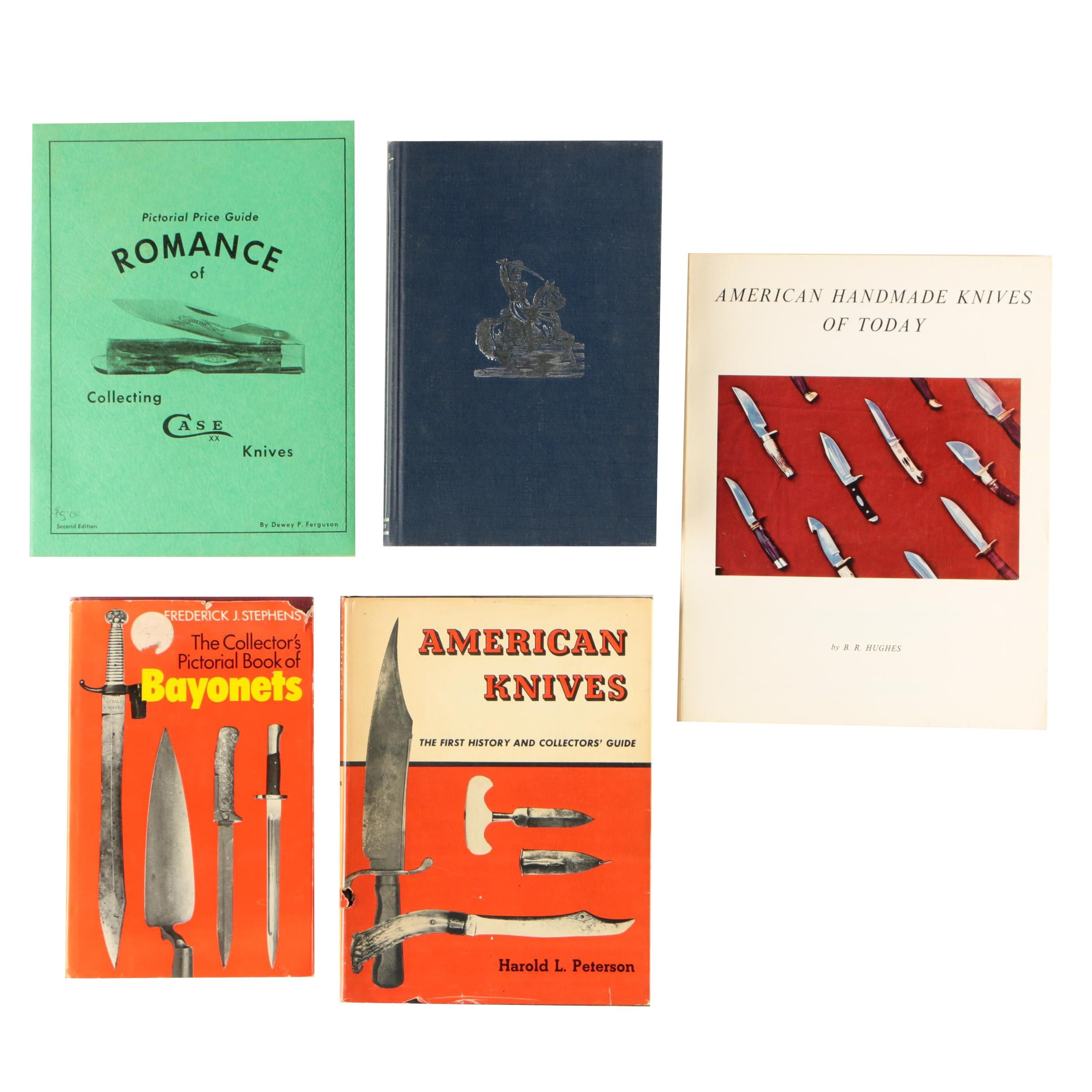Vintage Books on Knives, Swords, and Bayonets