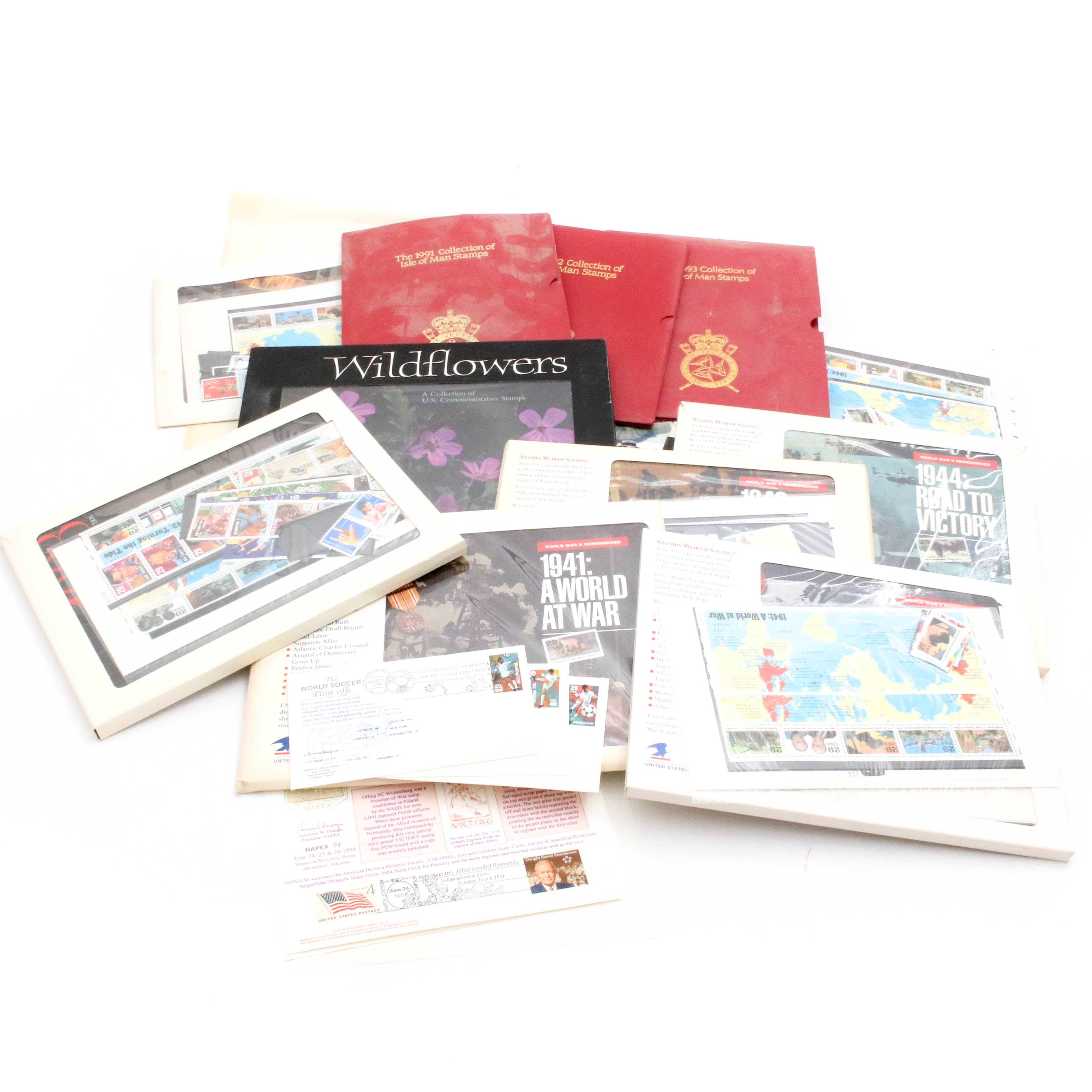 United States Postal Service Commemorative Year Mint Stamp Collections