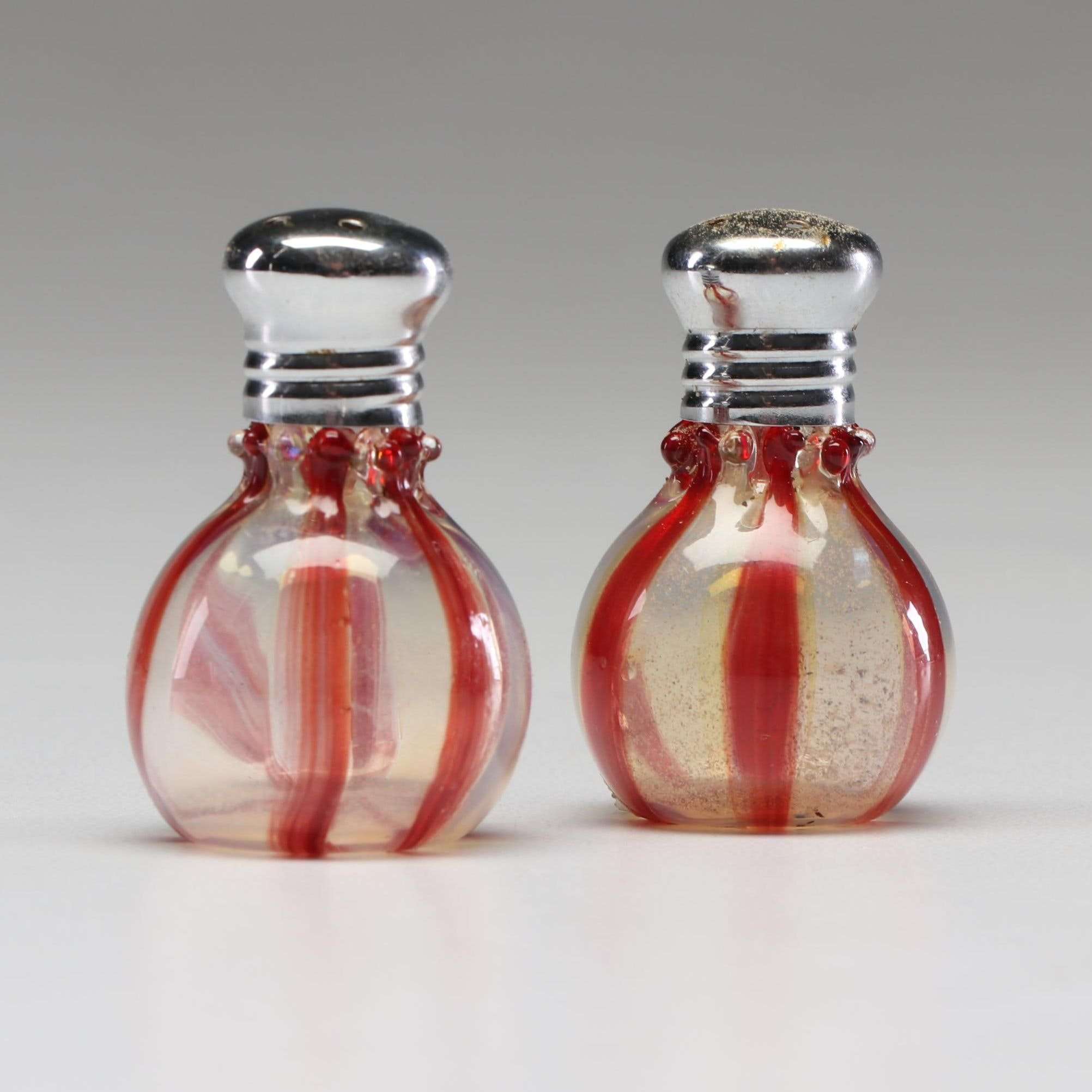 Venetian Glass Salt and Pepper Shakers
