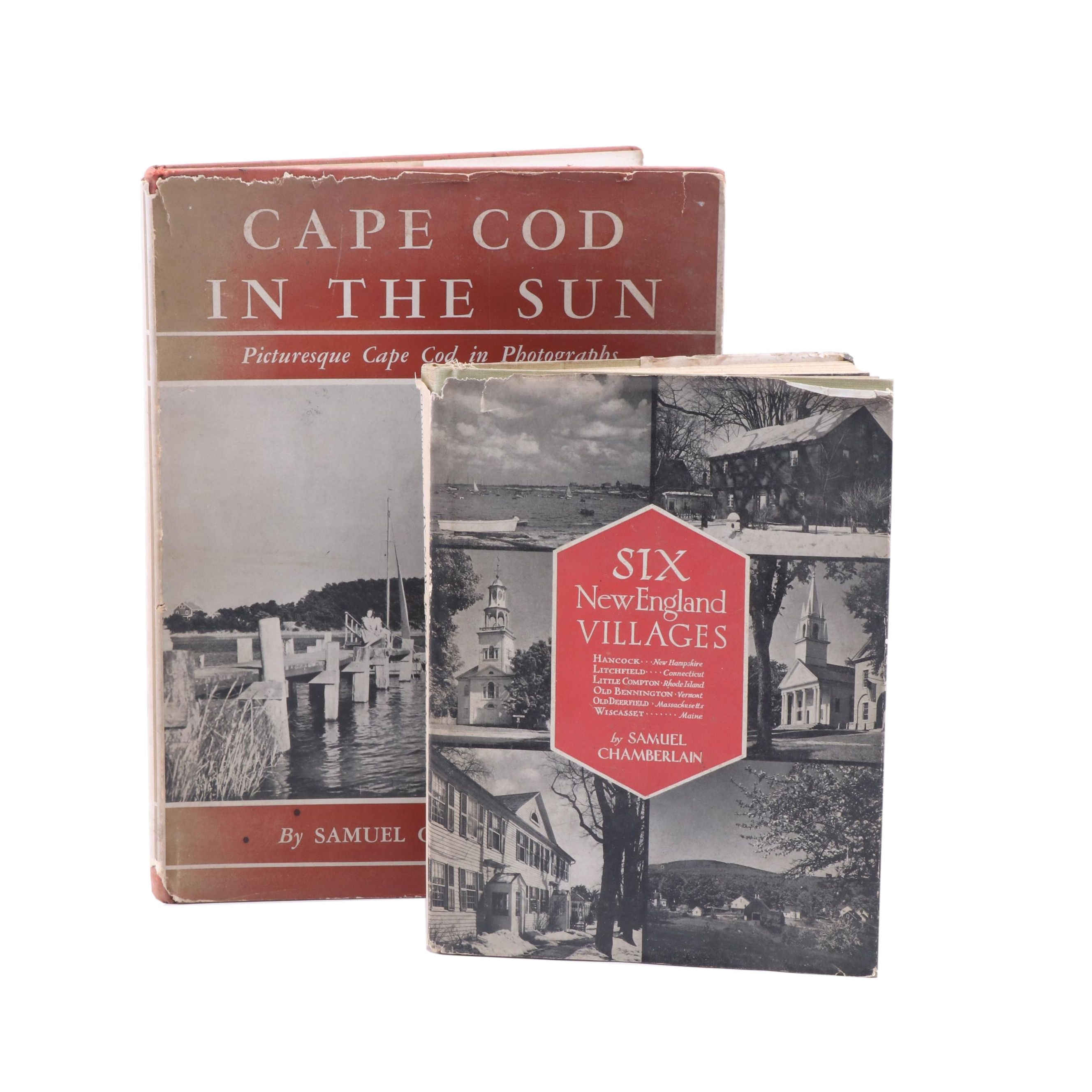 Signed Cape Cod and New England Books by Samuel Chamberlain