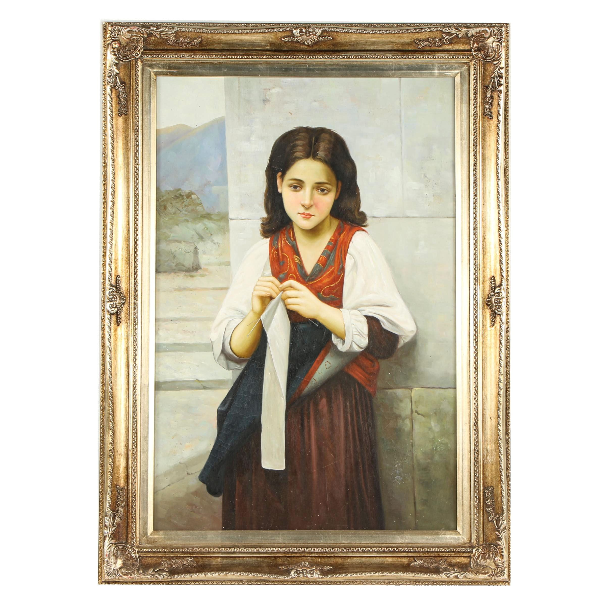 Copy Oil Painting after William-Adolphe Bouguereau