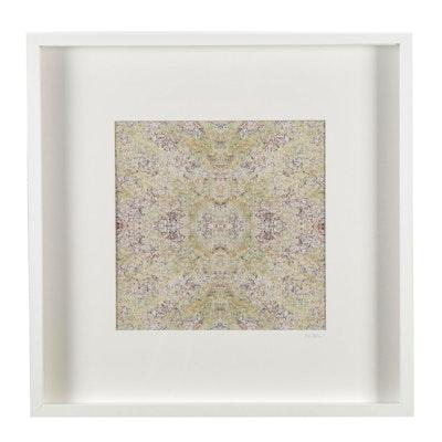 """Erin McCarthy Print """"Lichen on Granite"""""""
