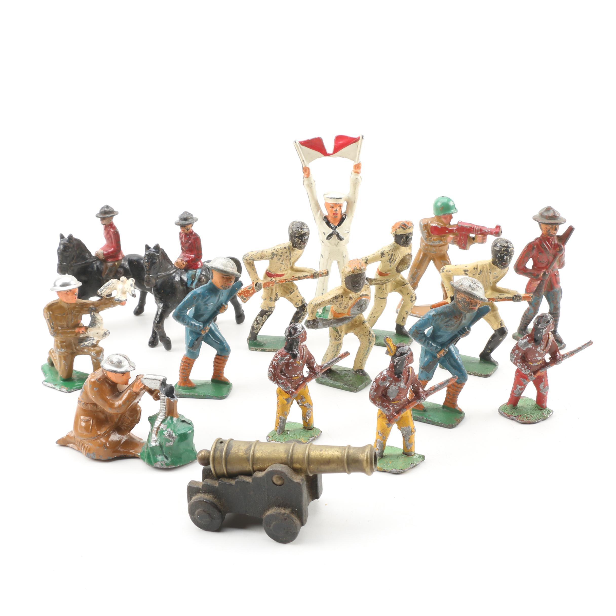 Cast Metal Toy Figures