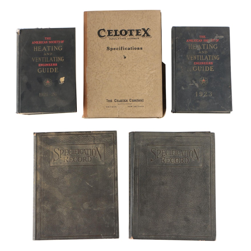 Vintage Manuals and and Guide Books