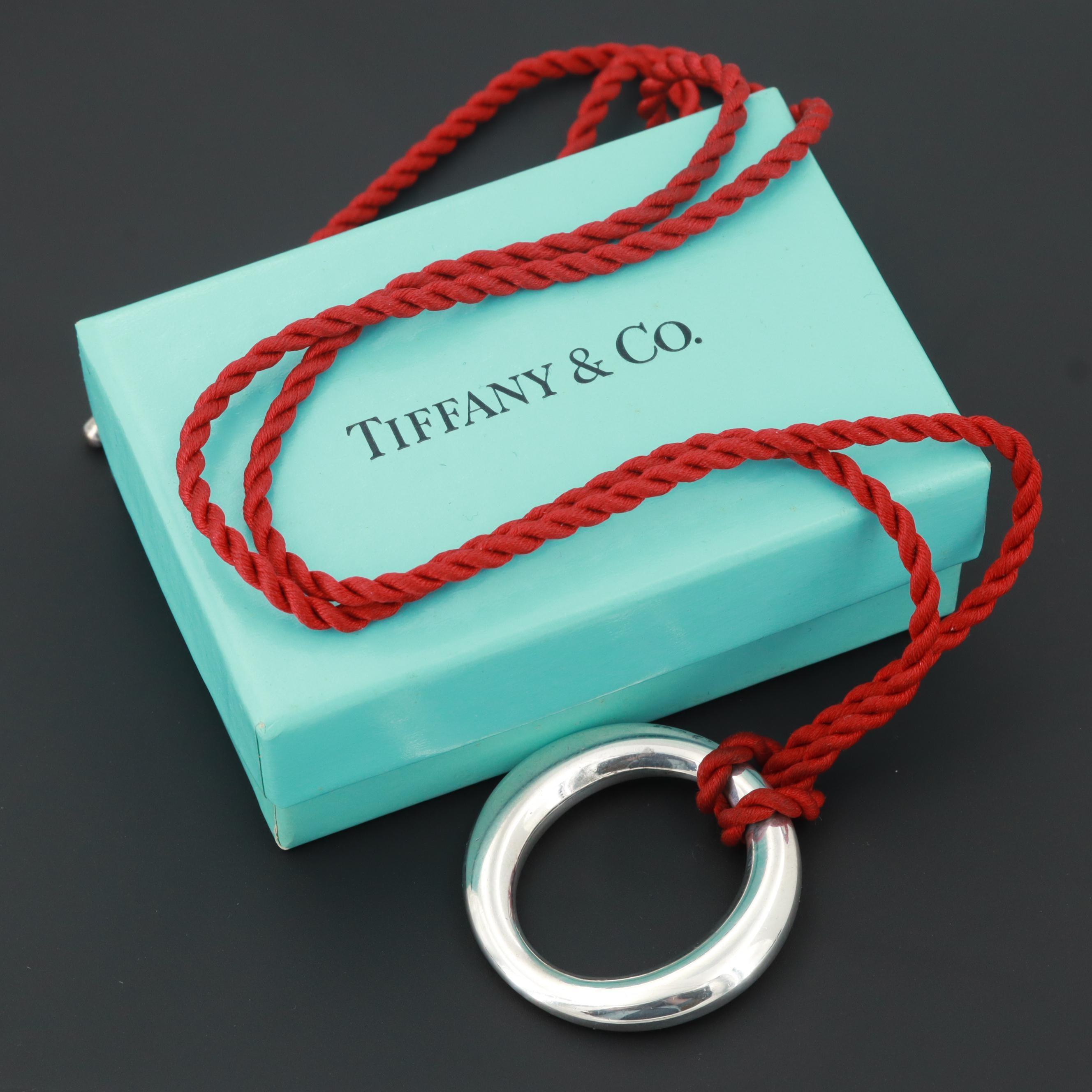 """Elsa Peretti for Tiffany & Co. Sterling Silver """"Sevillana"""" Necklace"""