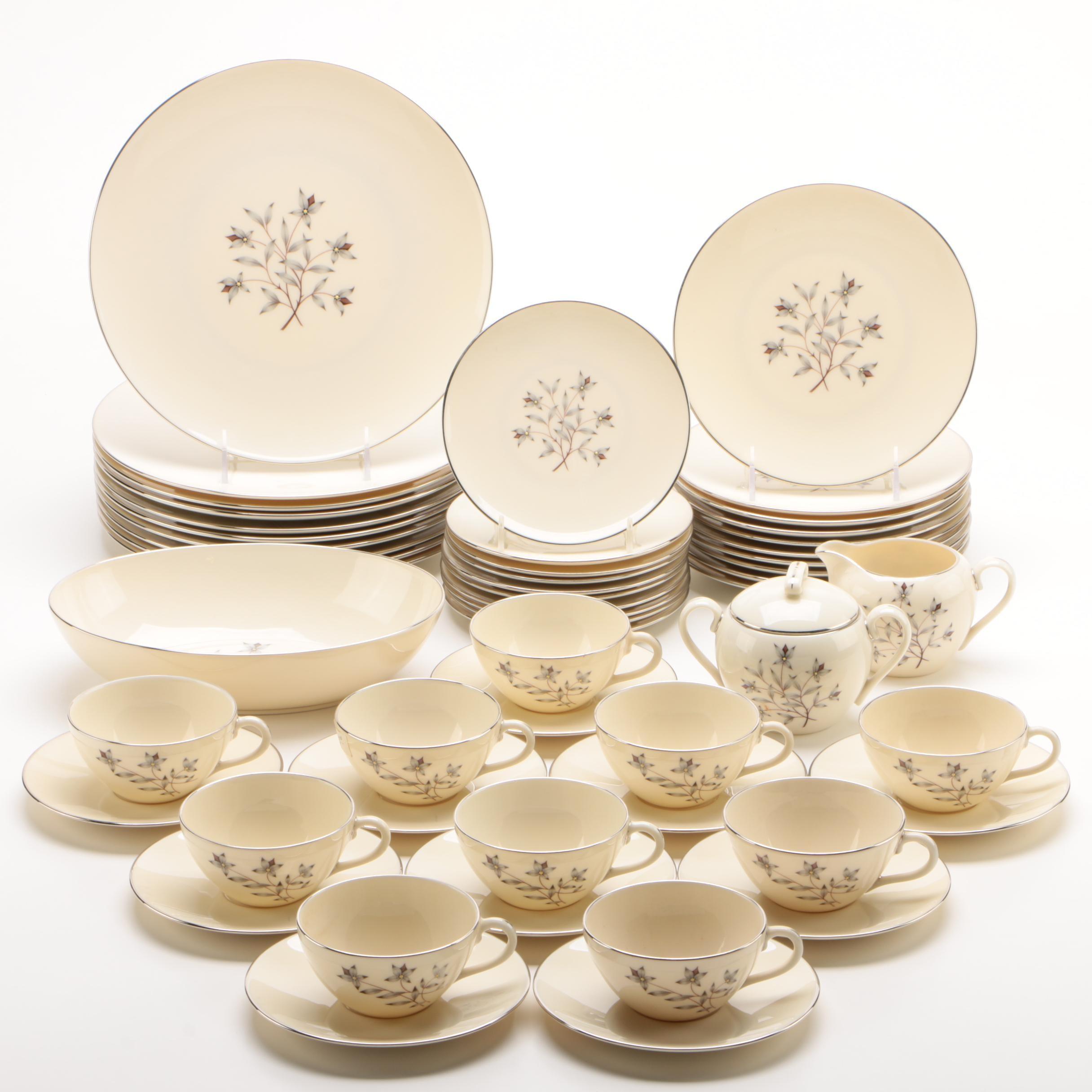 "Lenox ""Princess"" Porcelain Dinnerware Service for Ten, 1954-1981"