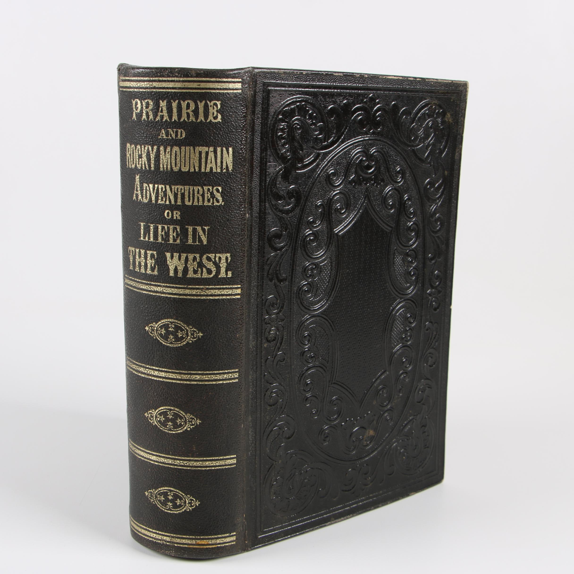 "1860 ""Prairie and Rocky Mountain Adventures of Life in the West"""