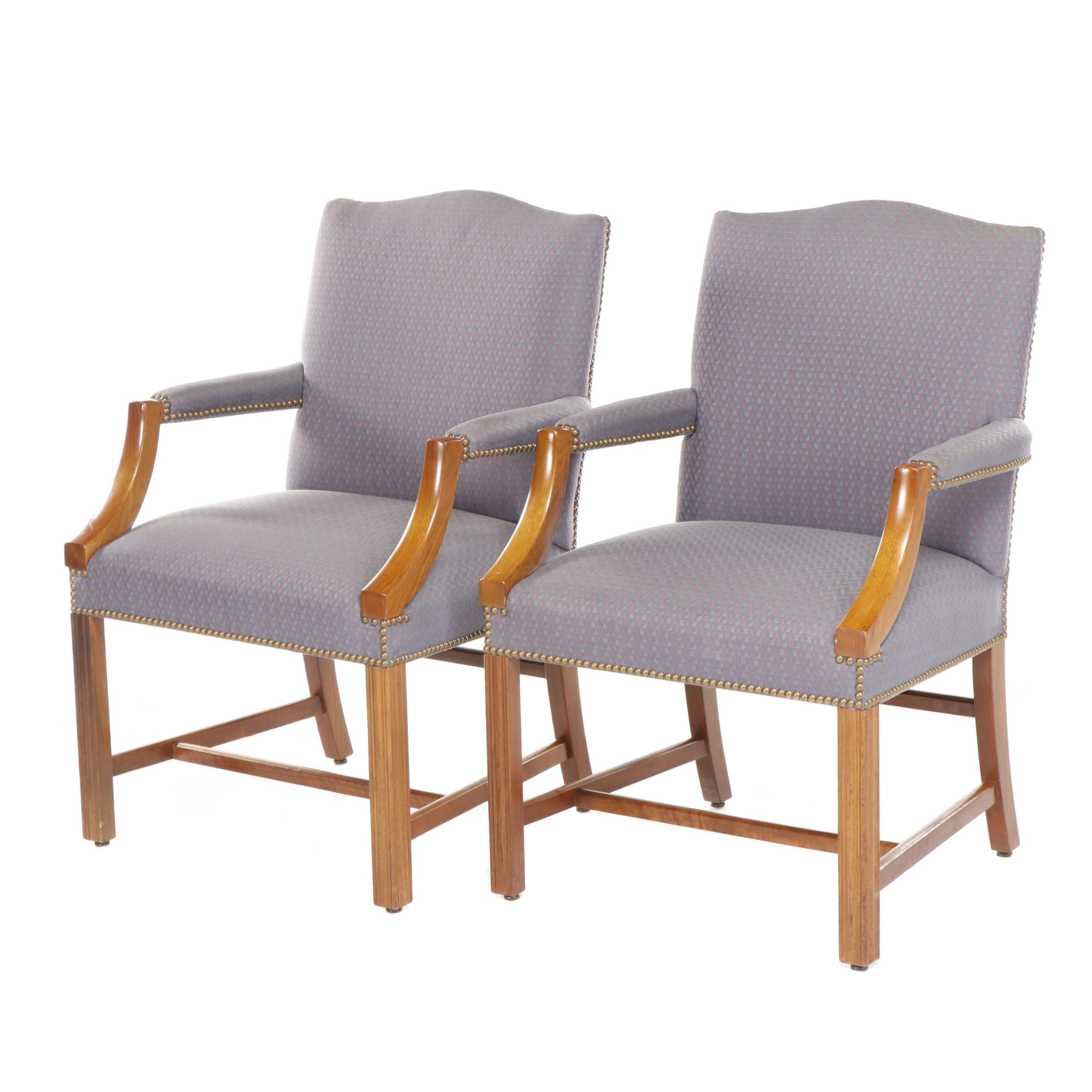 Taylor Chair Company Upholstered Armchairs