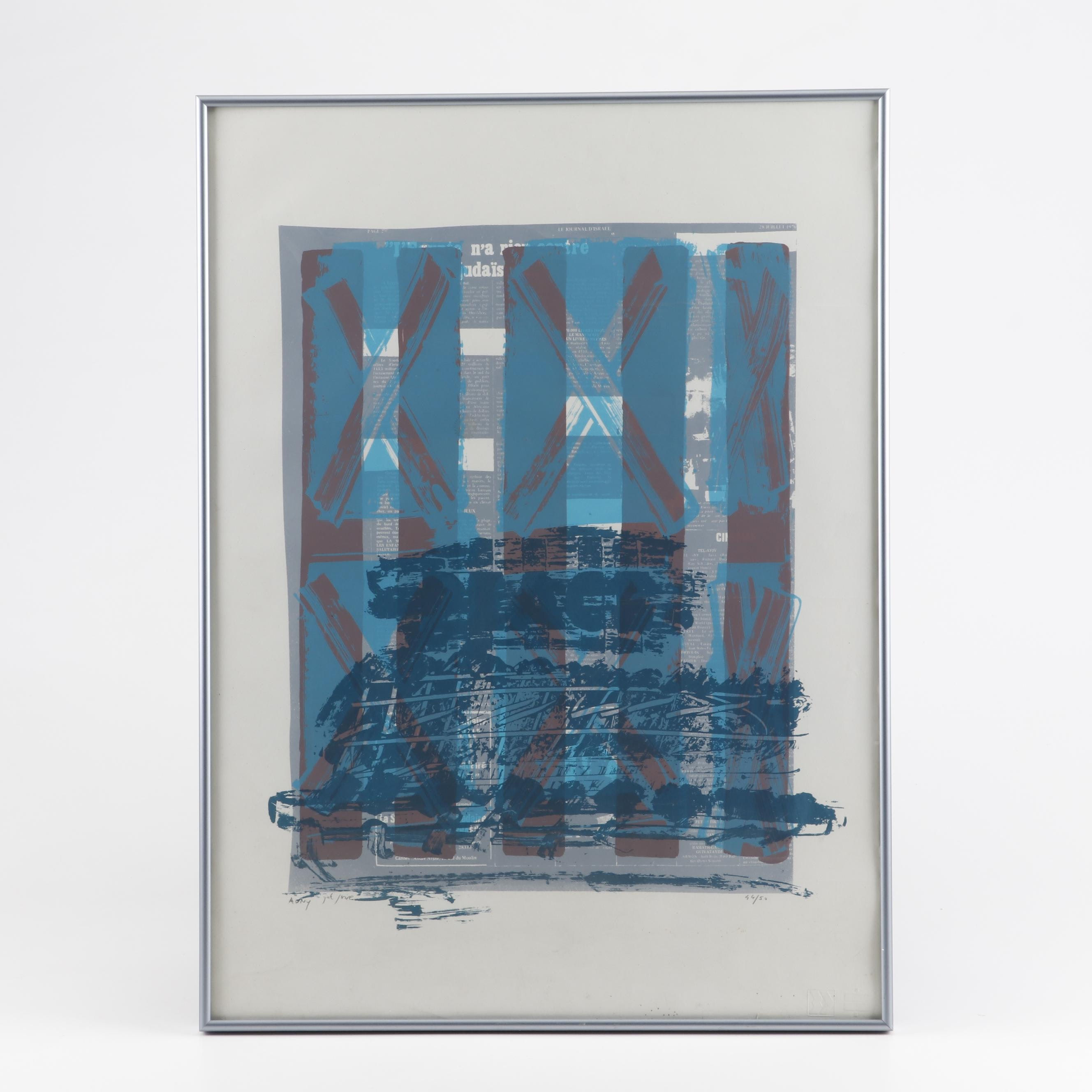 Limited Edition Serigraph Poster
