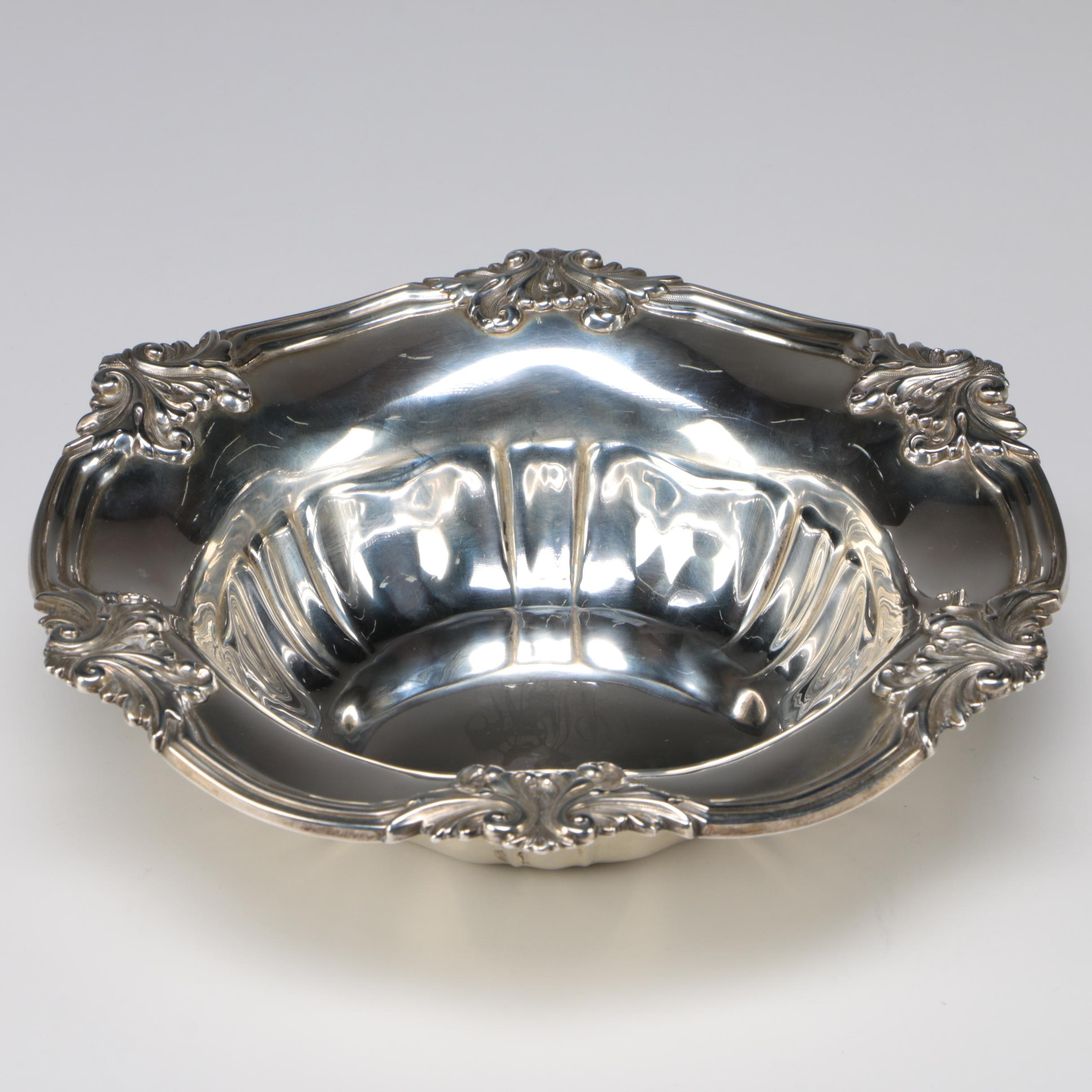 Unger Brothers Sterling Silver Bowl, Late 19th/ Early 20th Century