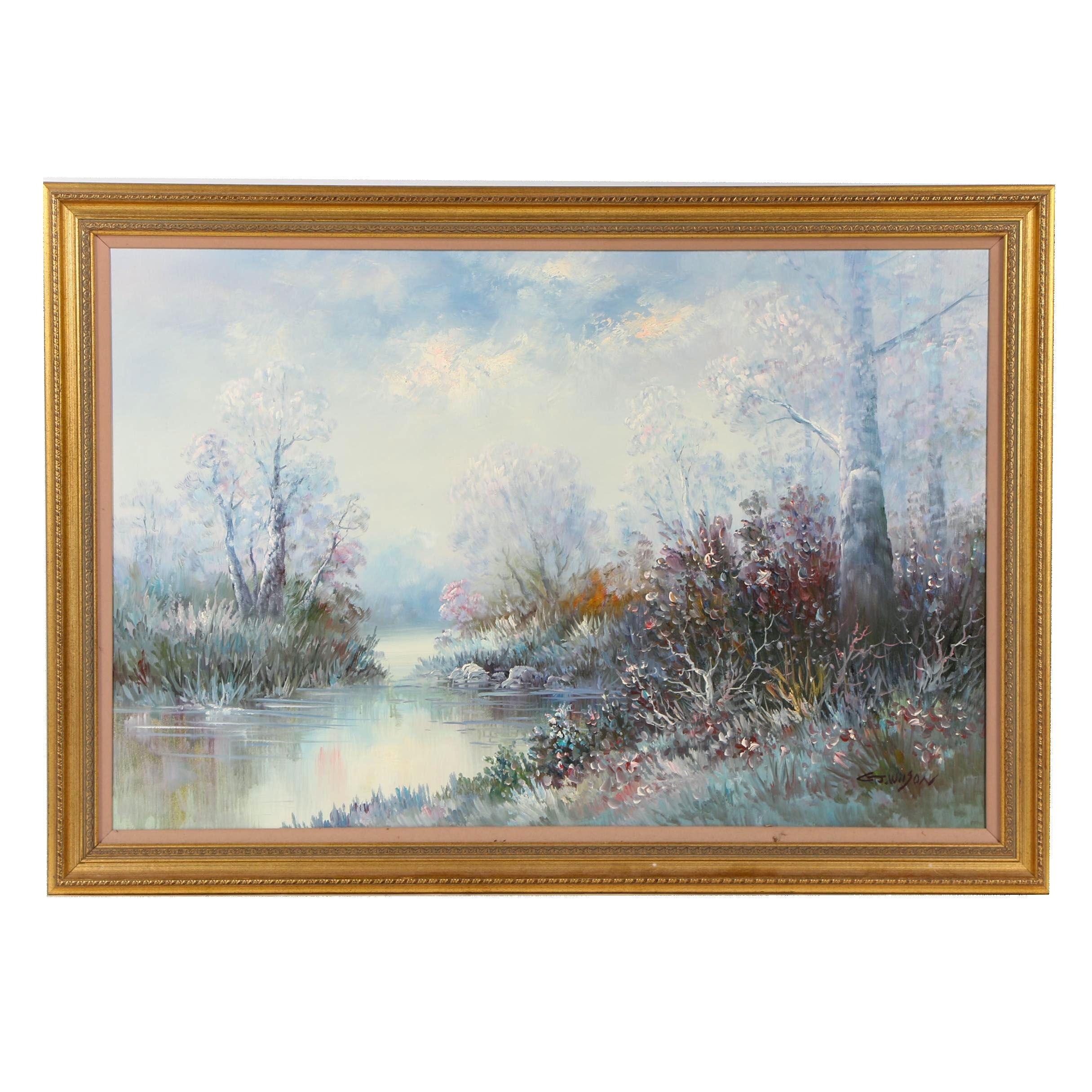 C. J. Wilson Landscape Oil Painting