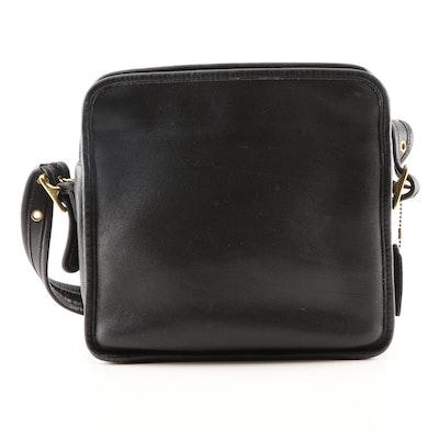 95701d8c0095 Coach Black Leather Crossbody Bag. Pickup Available EBTH Charlotte