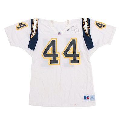 9fad8703 Early 1990s Martin Bayless San Diego Chargers NFL Professional Football  Jersey