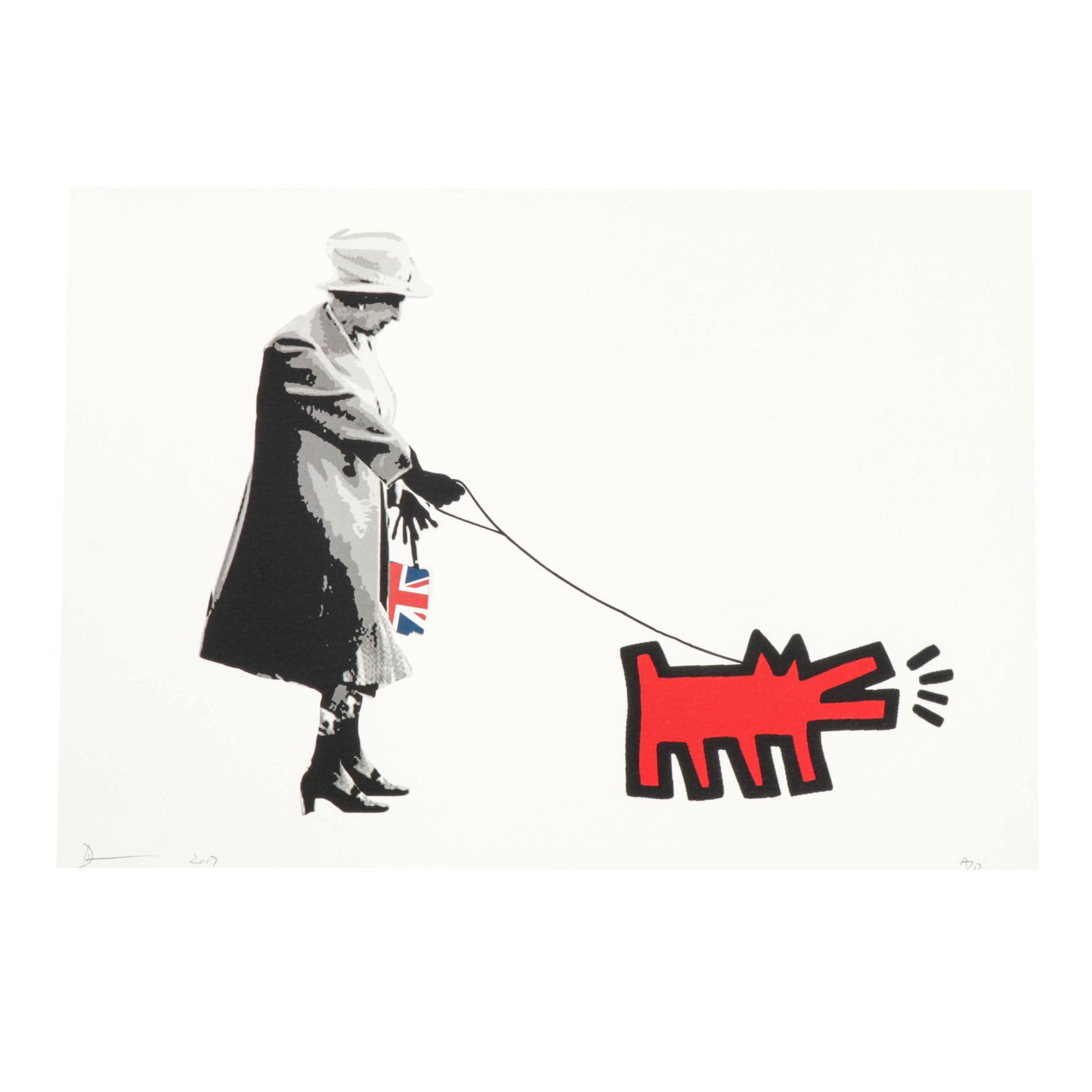 """Death NYC Offset Print """"Queen Red Dog"""""""