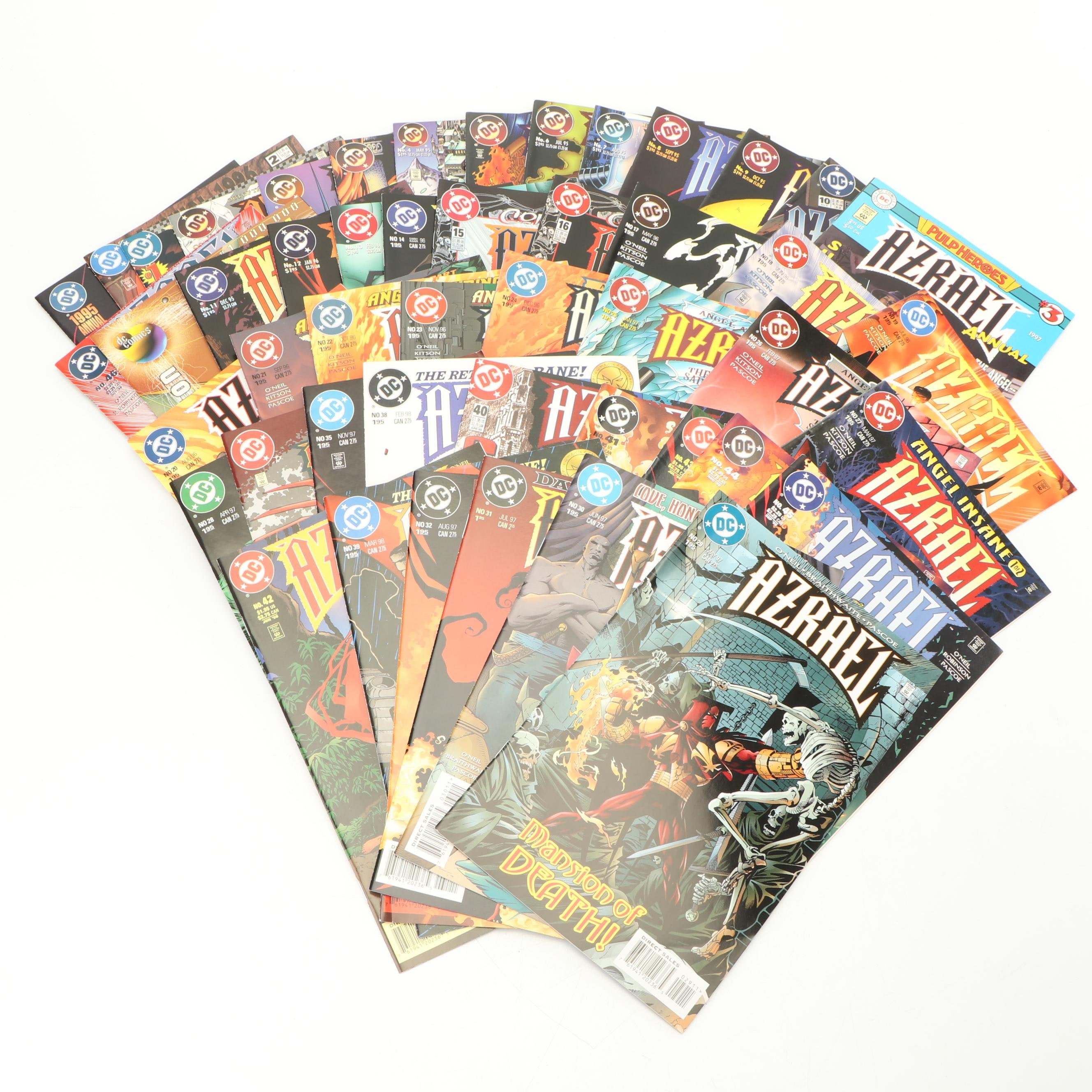 "Modern Aged DC Comic ""Azrael"" Comic Books"