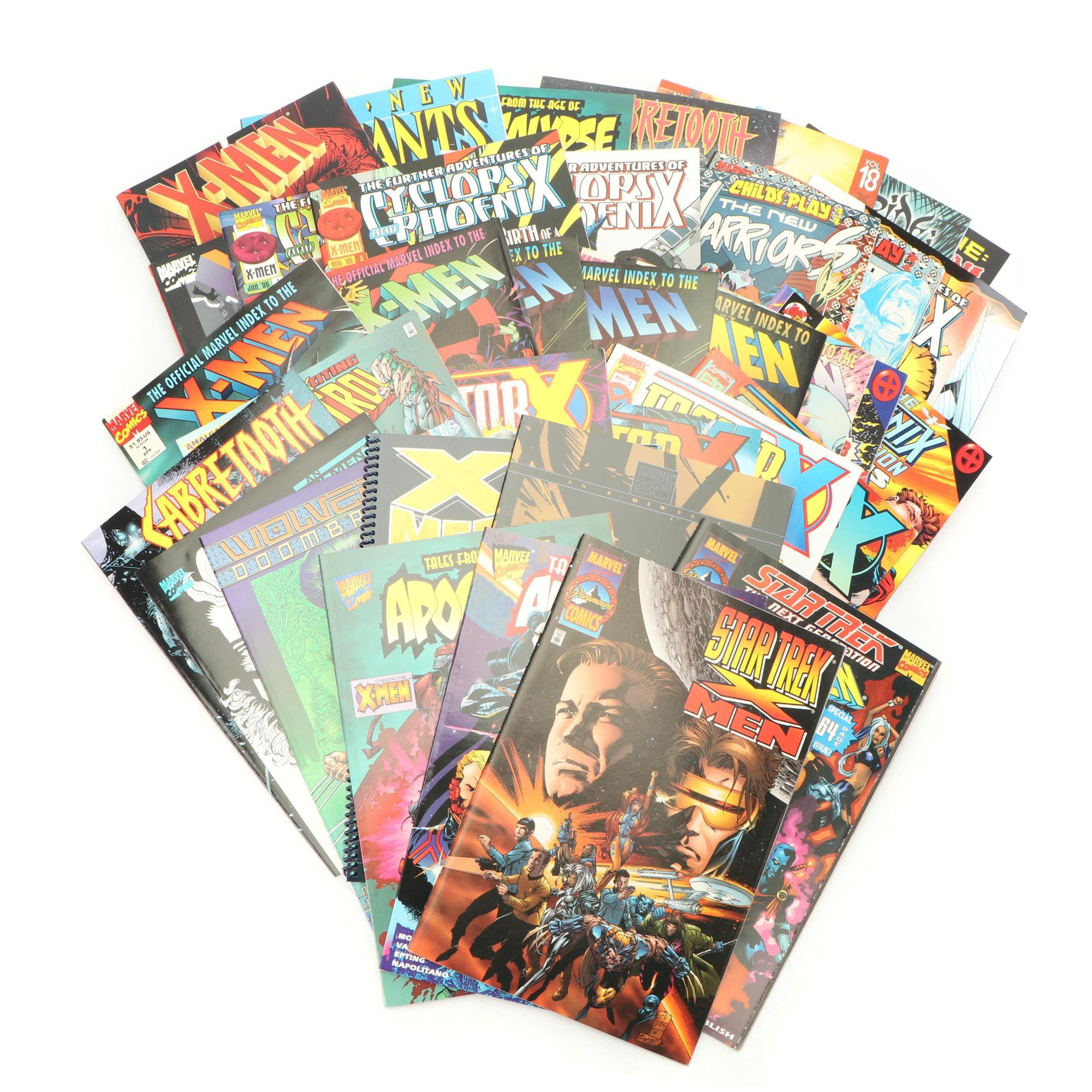 "Modern Aged Marvel Comics ""X-Men"" Comic Books & Graphic Novels"