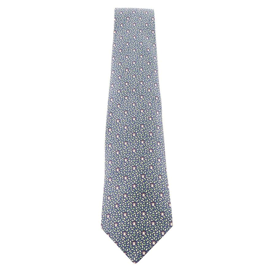 e8a1394f9784 Hermès Paris 5439 FA Silk Necktie : EBTH