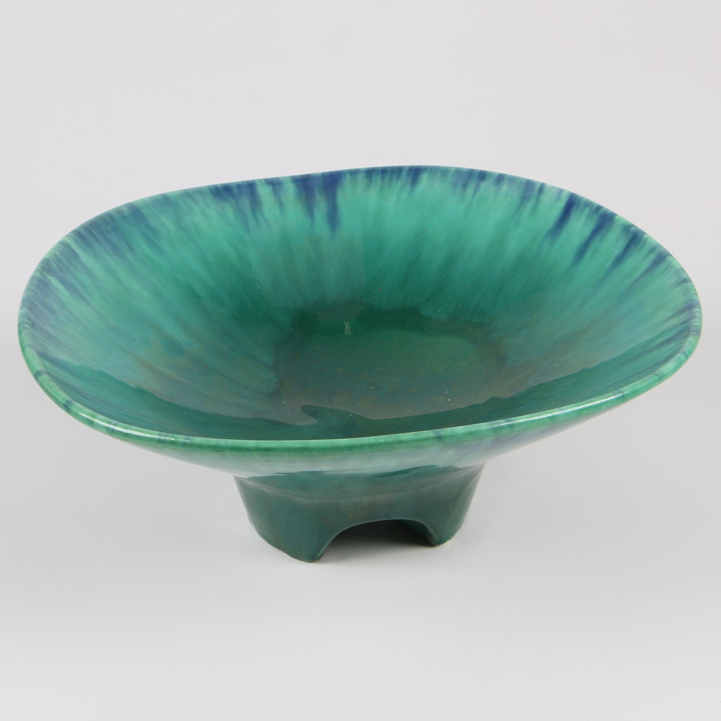 Royal Haeger Footed Console Bowl, Mid-Century