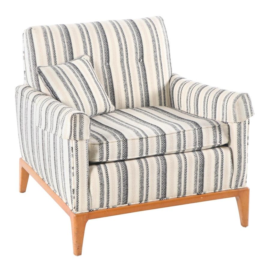 Mid Century Modern Armchairs: Mid Century Modern Style Upholstered Armchair