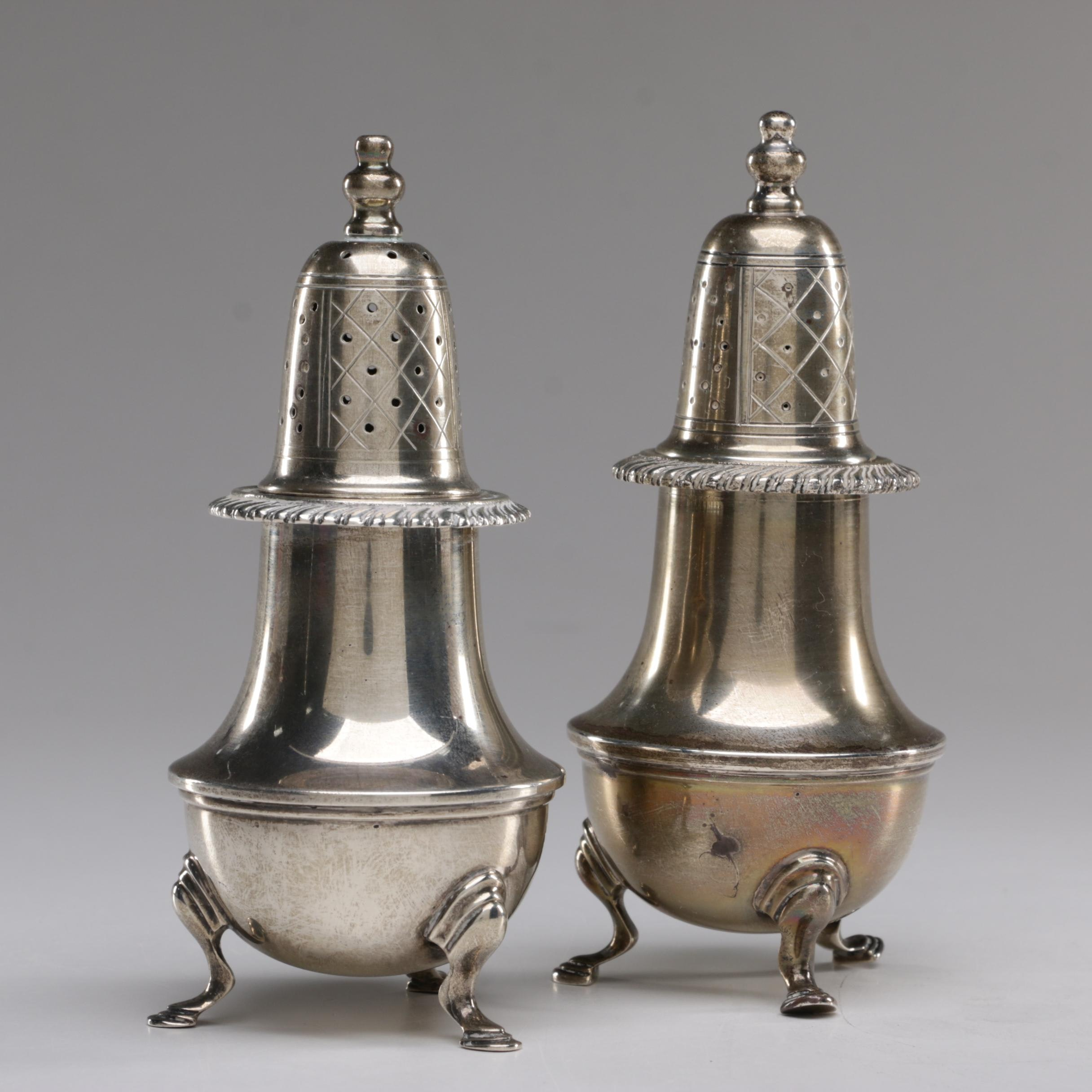 Redlich & Co. Early American Reproduction Sterling Silver Shakers