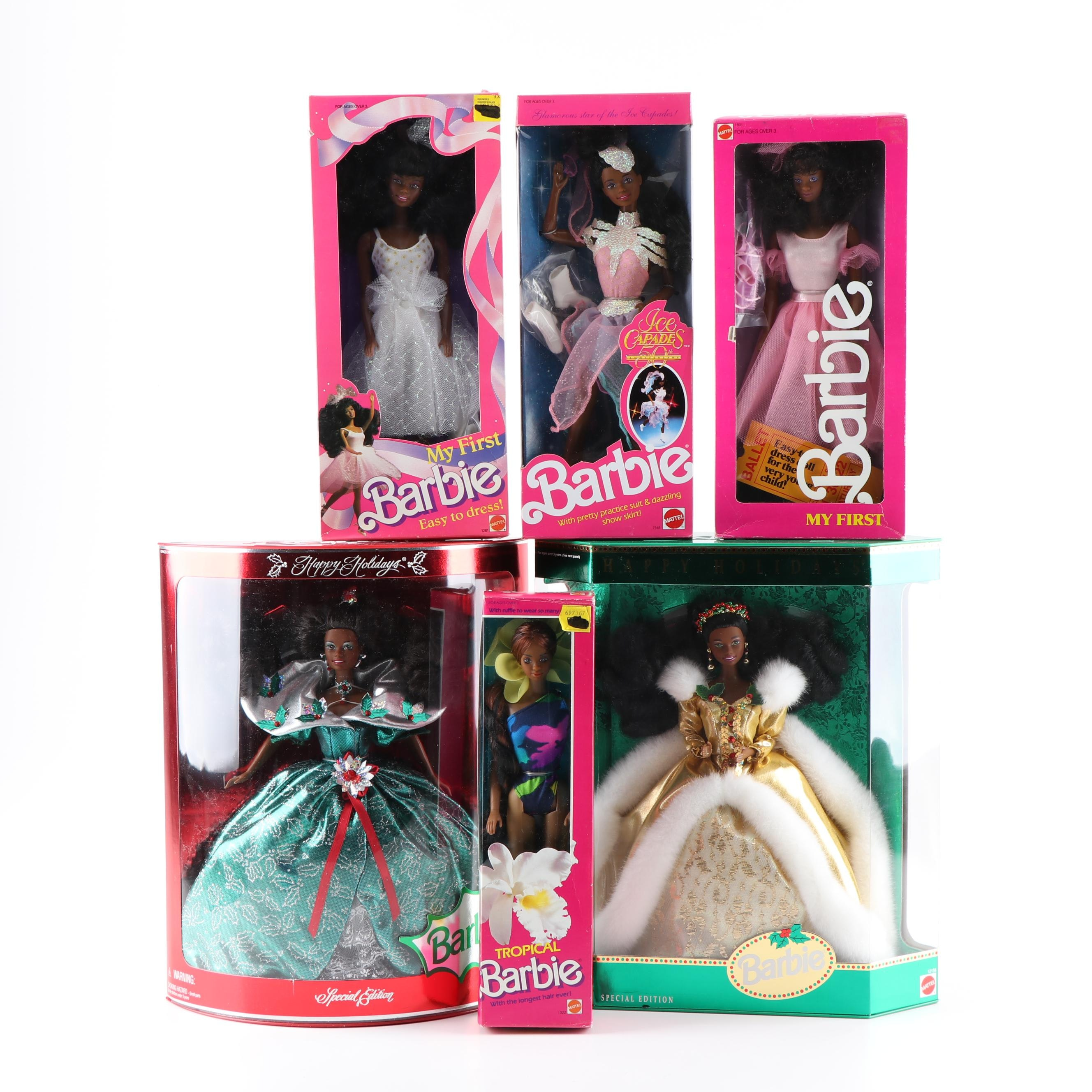 """Happy Holidays"", ""My First"", ""Tropical"" and Other Barbie Dolls"