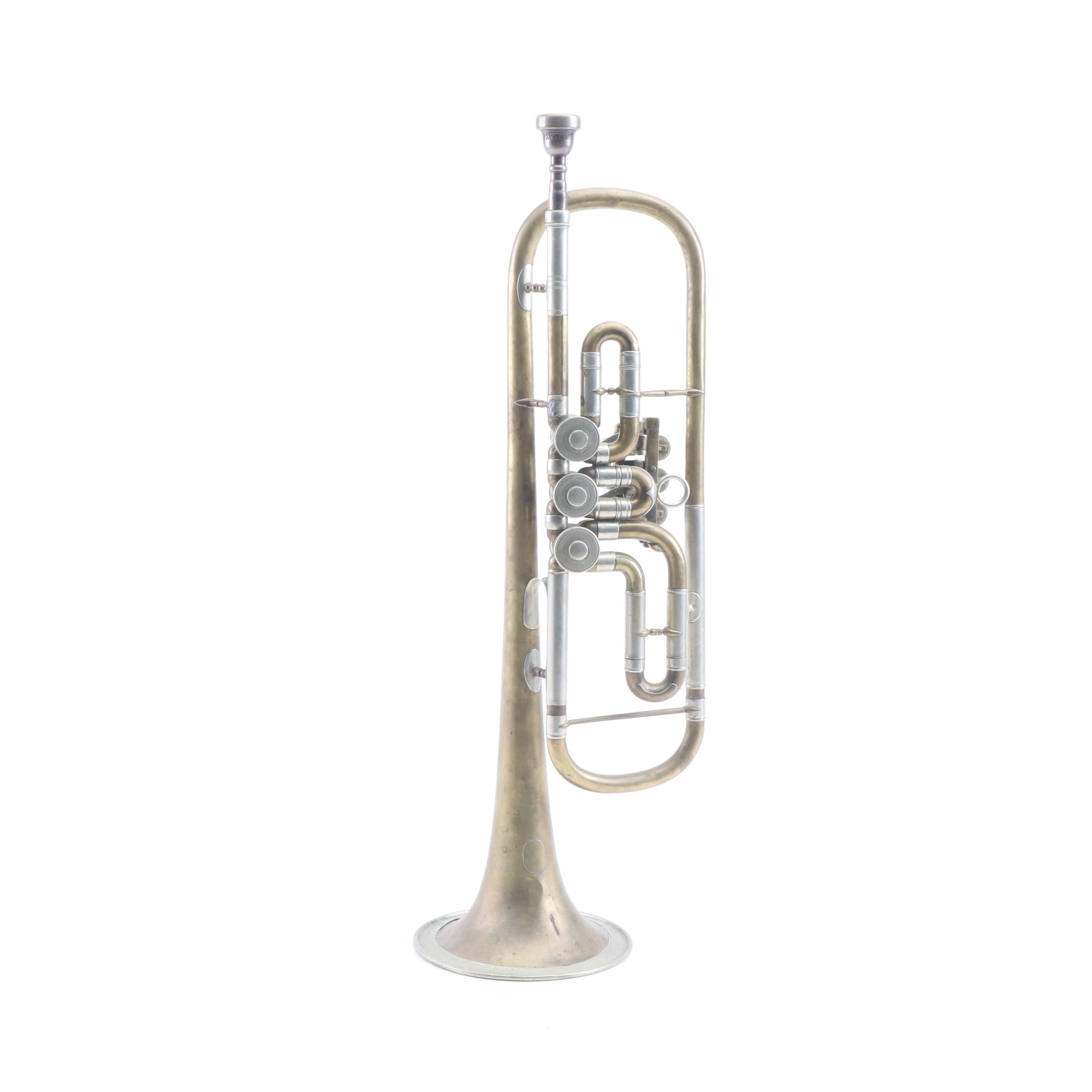Side Valve Rotary Trumpet with Vincent Bach 7C Mouthpiece