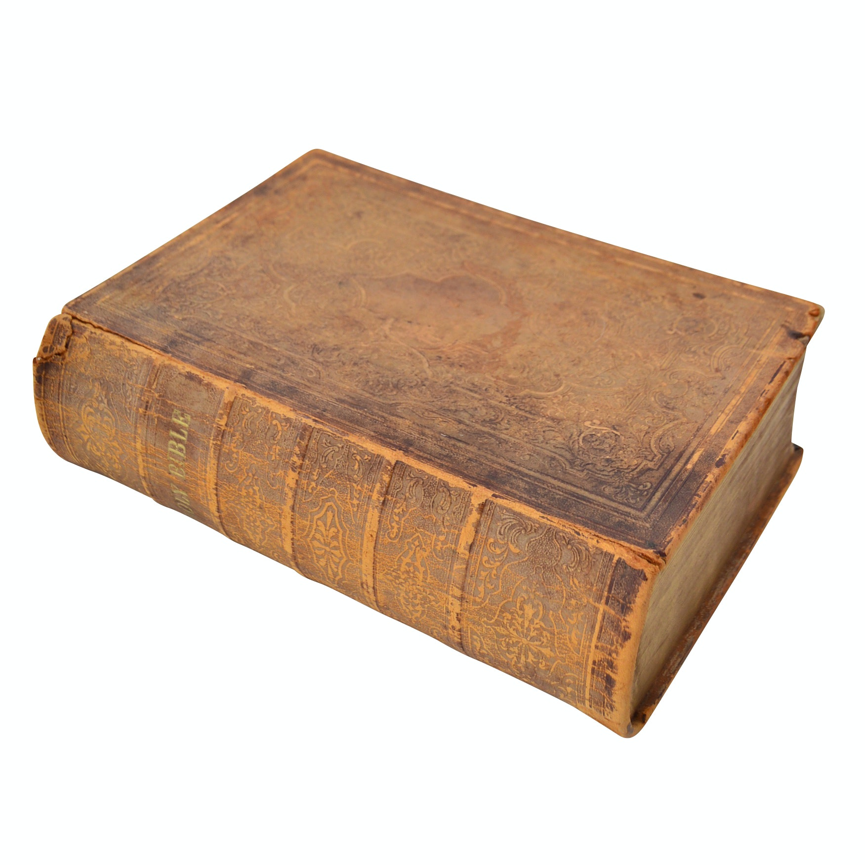 1867 Leather-Bound Bible