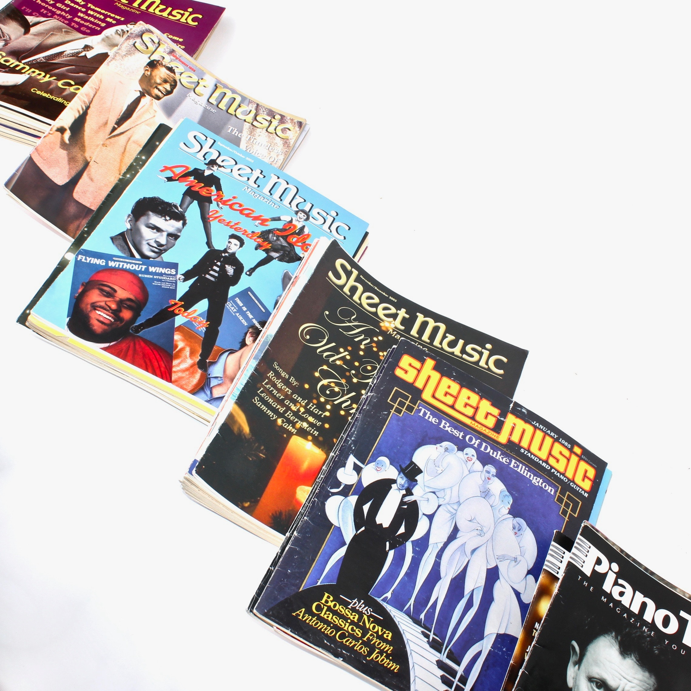 """""""Sheet Music"""" and """"Piano Today"""" Magazines, Circa 1990s and 2000s"""