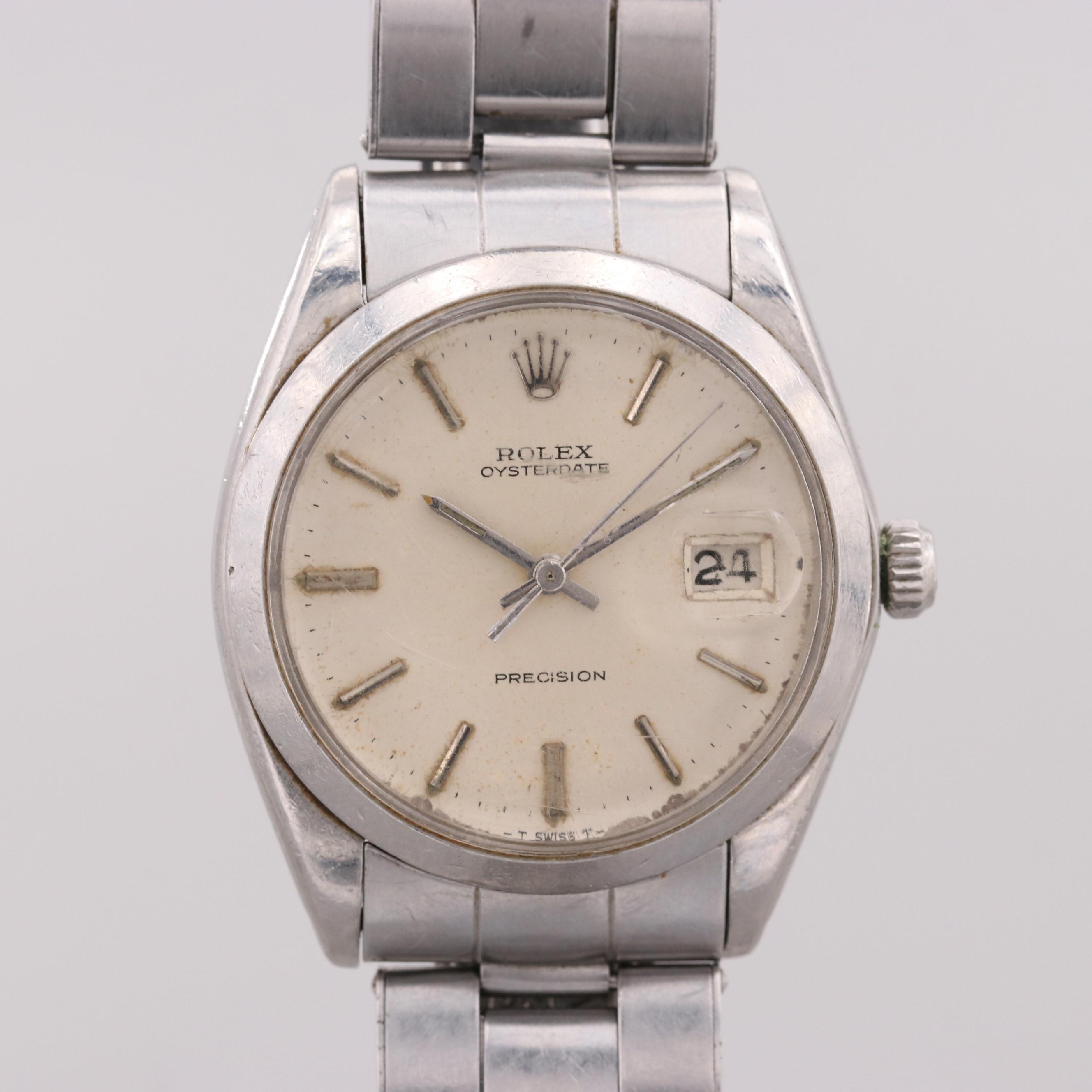 Vintage Rolex Oysterdate Wristwatch