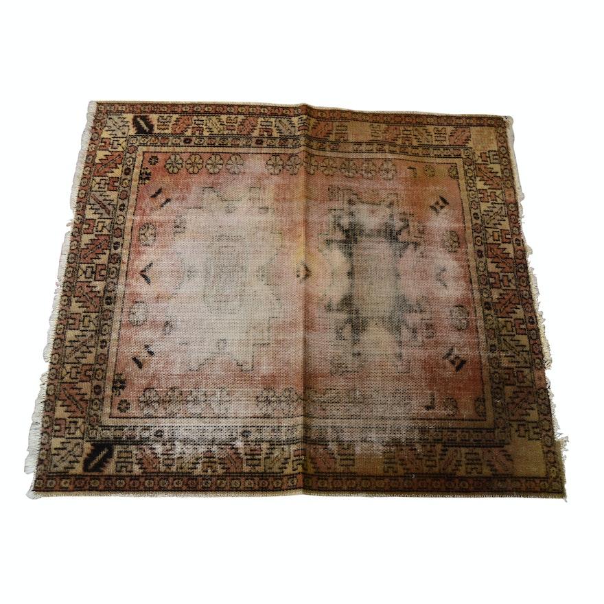 Hand-Loomed Indo-Persian Wool Rug