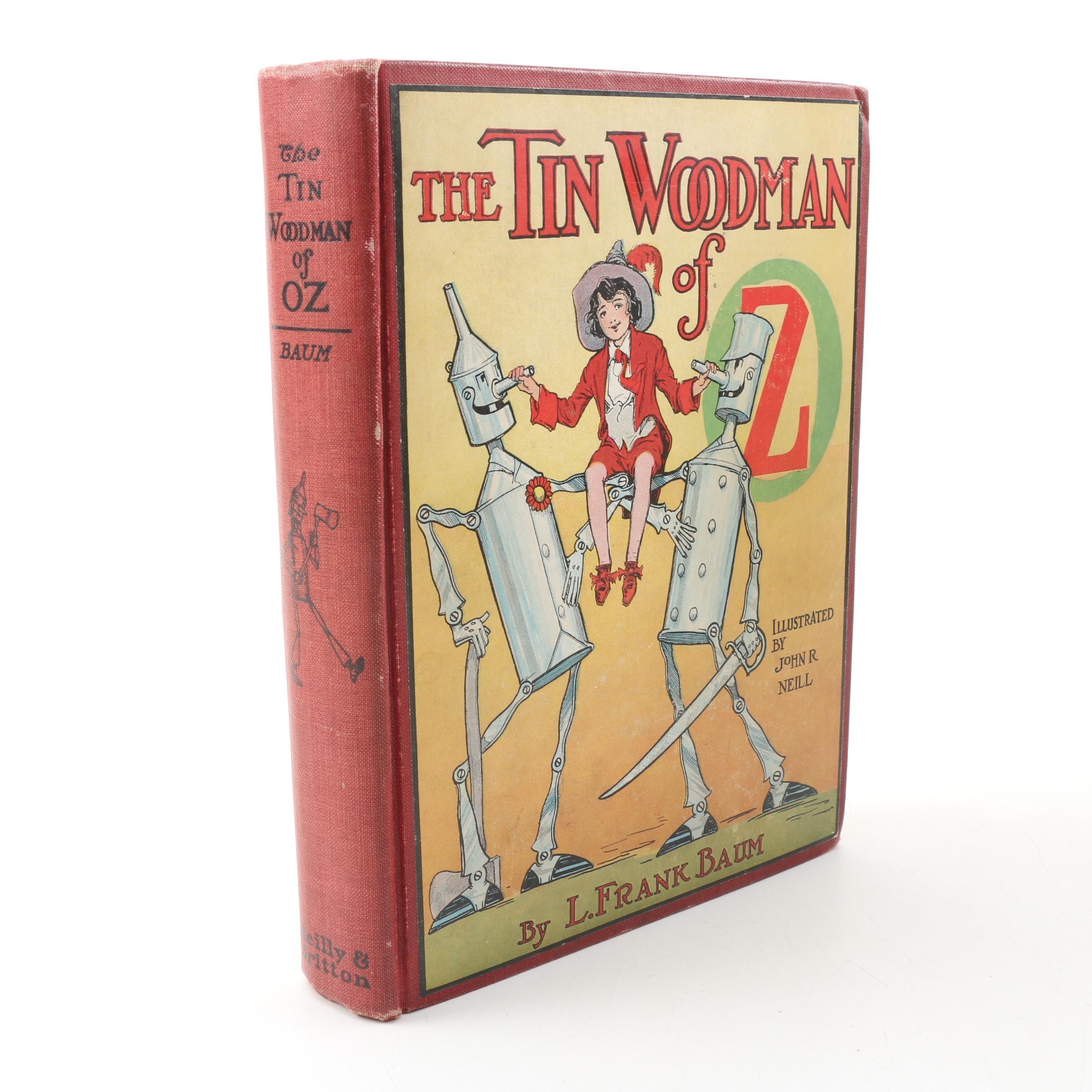 "1918 First Printing ""The Tin Woodman of Oz"" by L. Frank Baum"