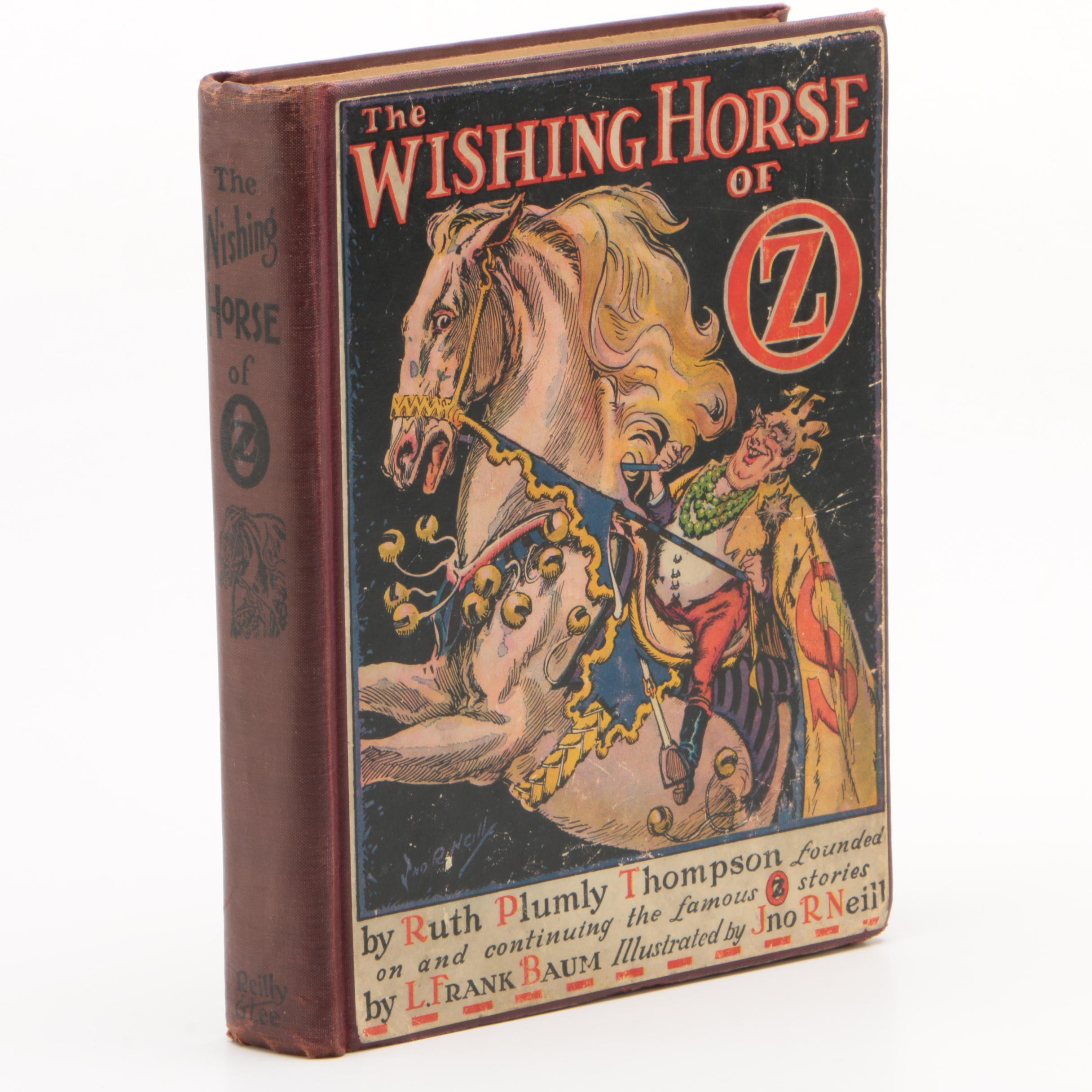 """""""The Wishing Horse of Oz"""" by Ruth Plumly Thompson"""