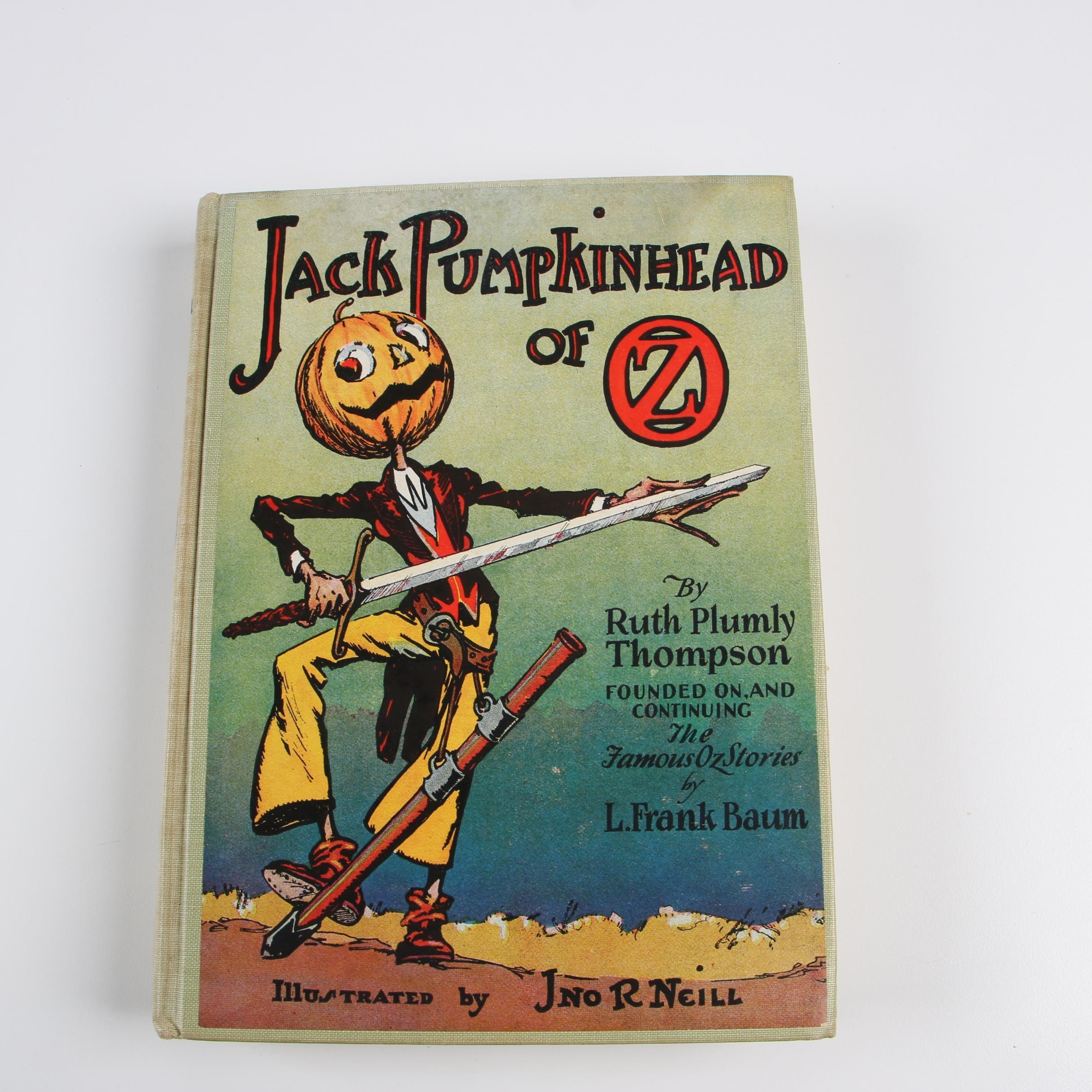 """Jack Pumpkinhead of Oz"" by Ruth Plumly Thompson"