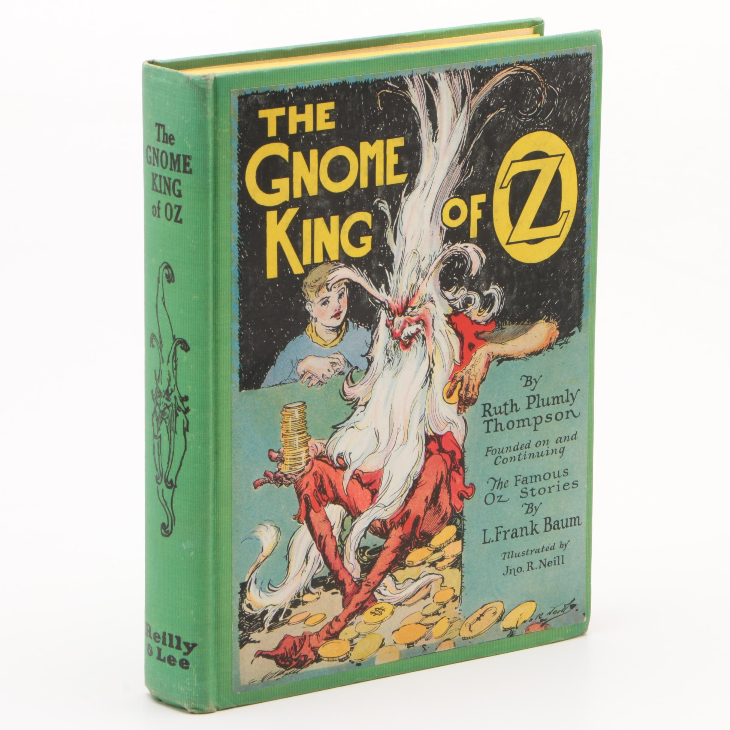 """1927 First Printing """"The Gnome King of Oz"""" by Ruth Plumly Thompson"""