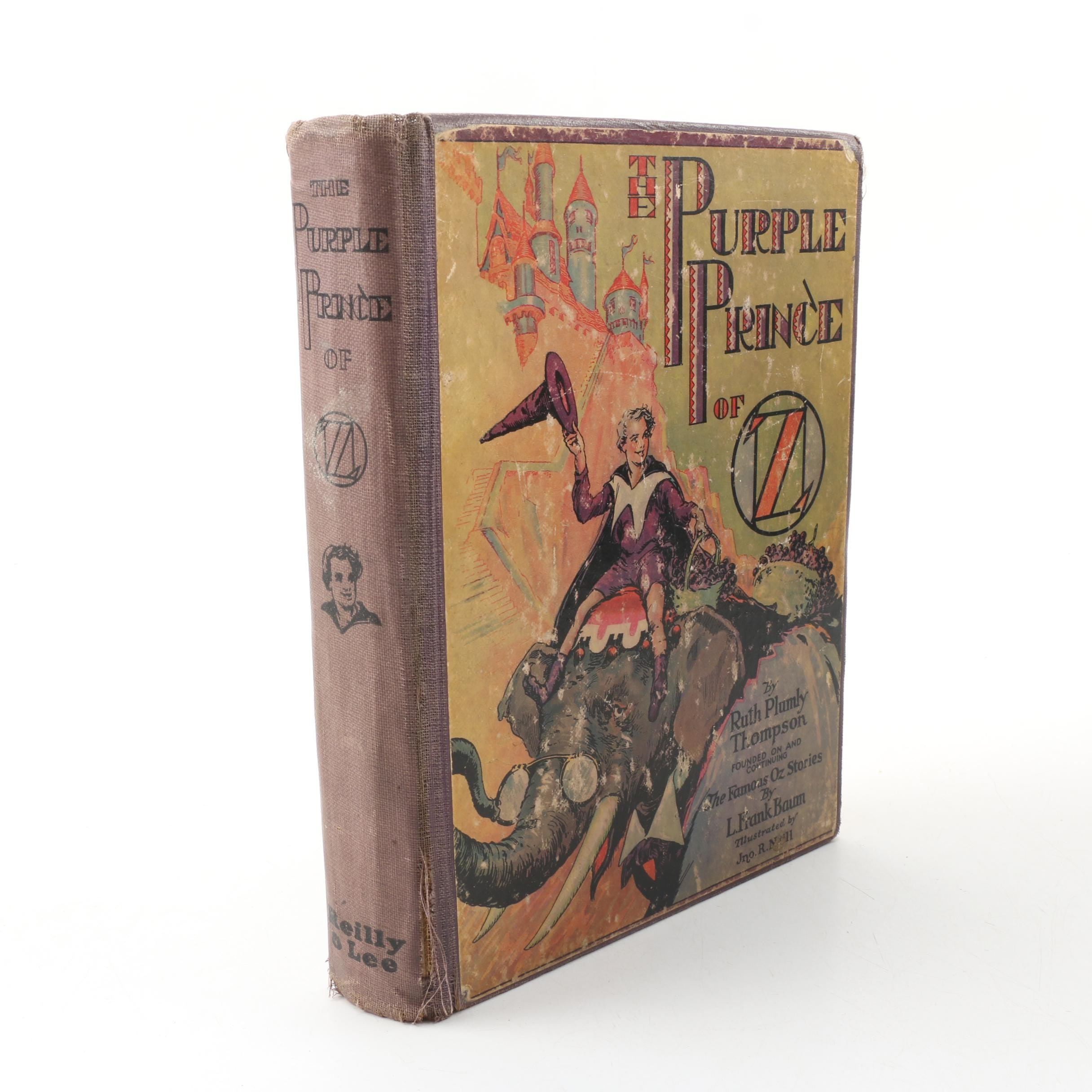 """1932 First Printing """"The Purple Prince of Oz"""" by Ruth Plumly Thompson"""