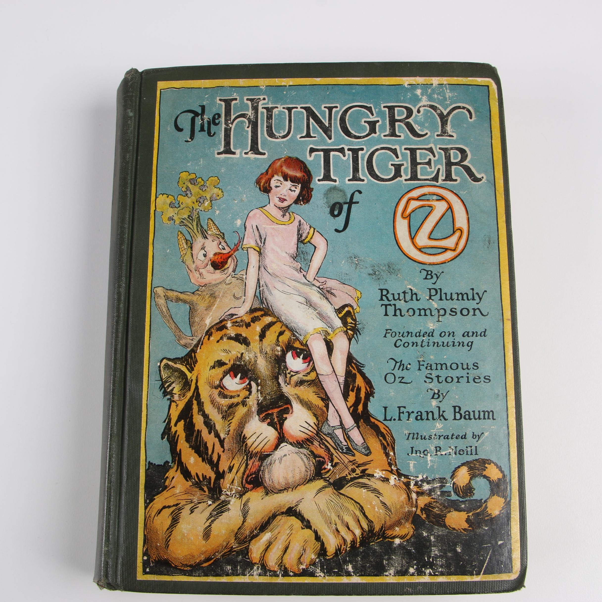 """1926 First Printing """"The Hungry Tiger of Oz"""" by Ruth Plumly Thompson"""