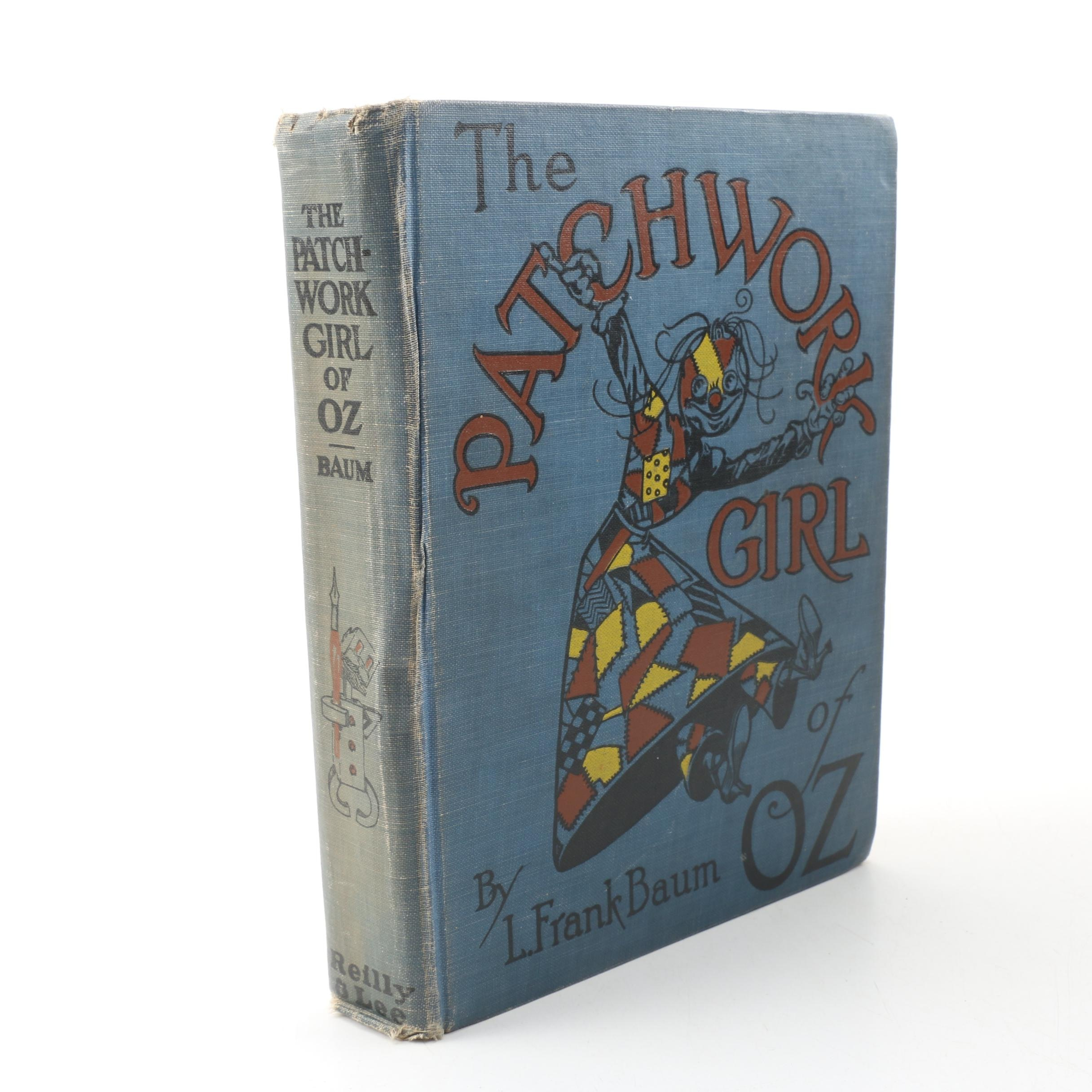 """""""The Patchwork Girl of Oz"""" by L. Frank Baum, late 1920s"""