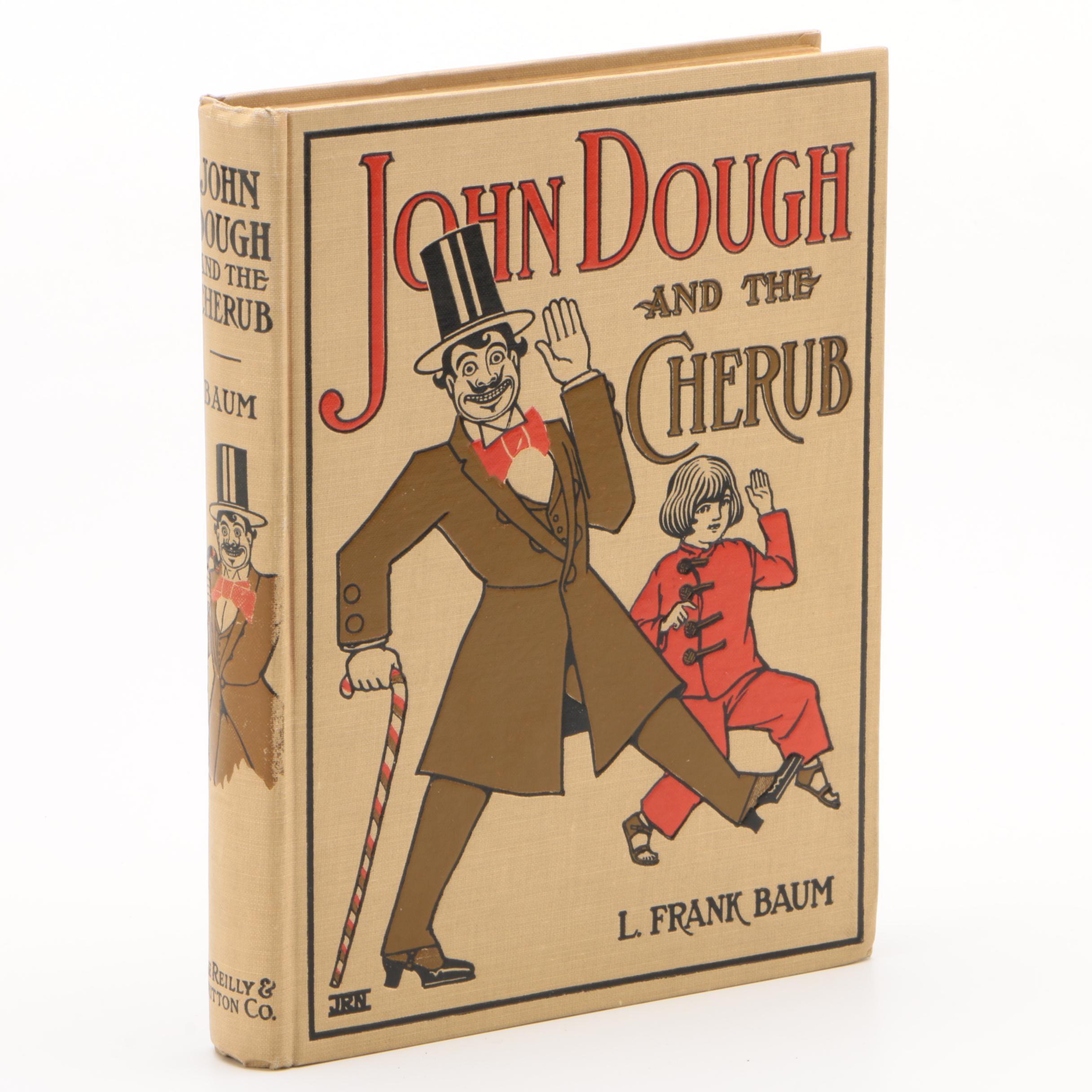 "1906 Early Printing ""John Dough and the Cherub"" by L. Frank Baum"