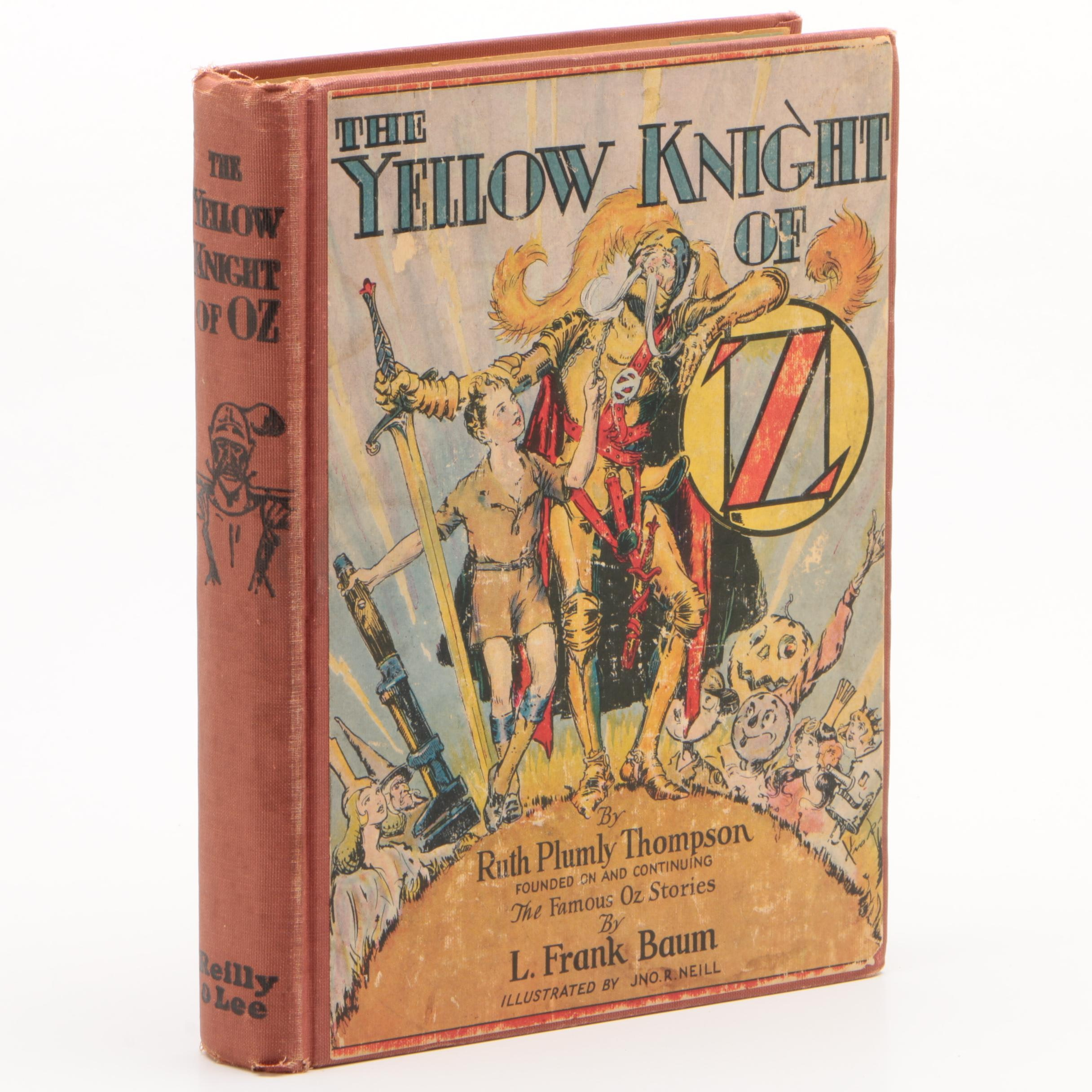 """1930 First Edition """"The Yellow Knight of Oz"""" by Ruth Plumly Thompson"""